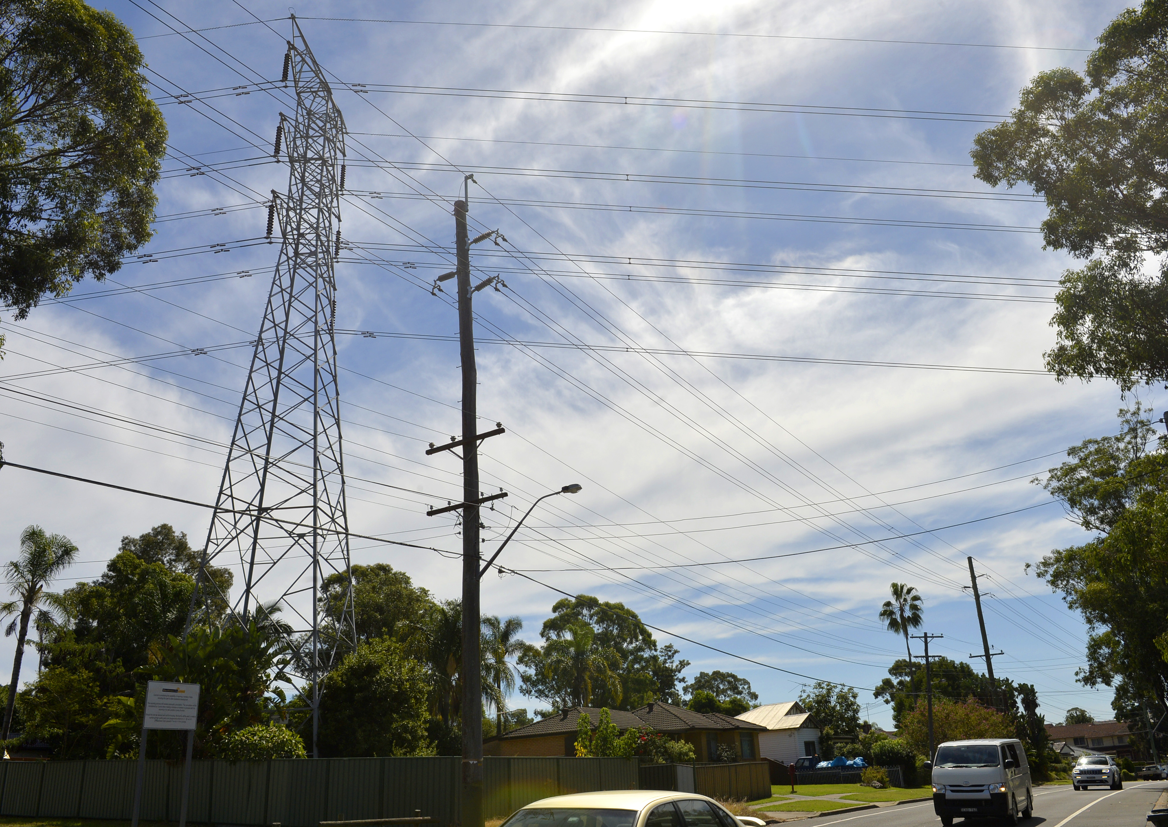 Ausgrid Transmission Towers As China Builds an Empire of Electricity With Australia as Target