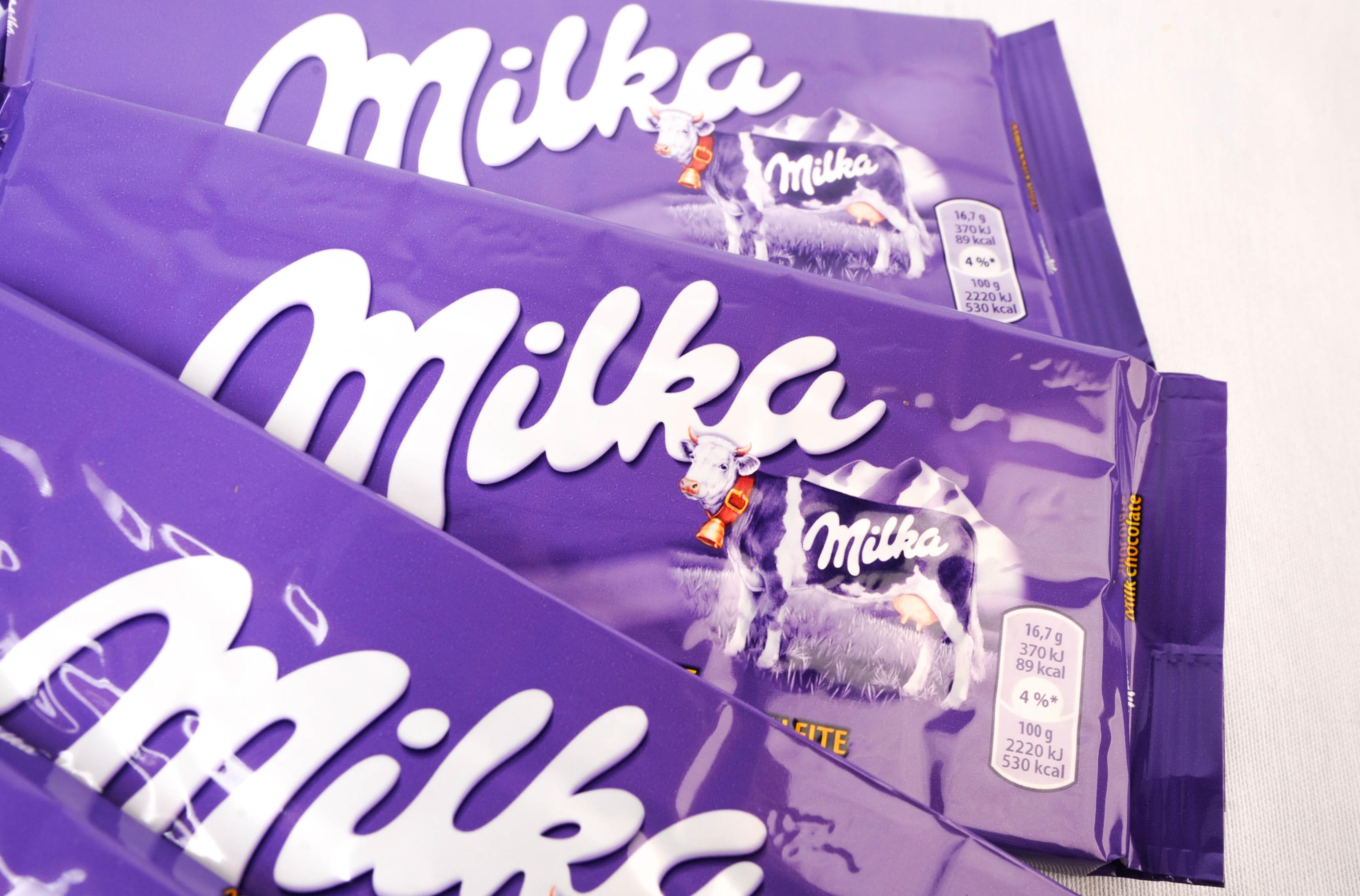 Chocolate confection Milka