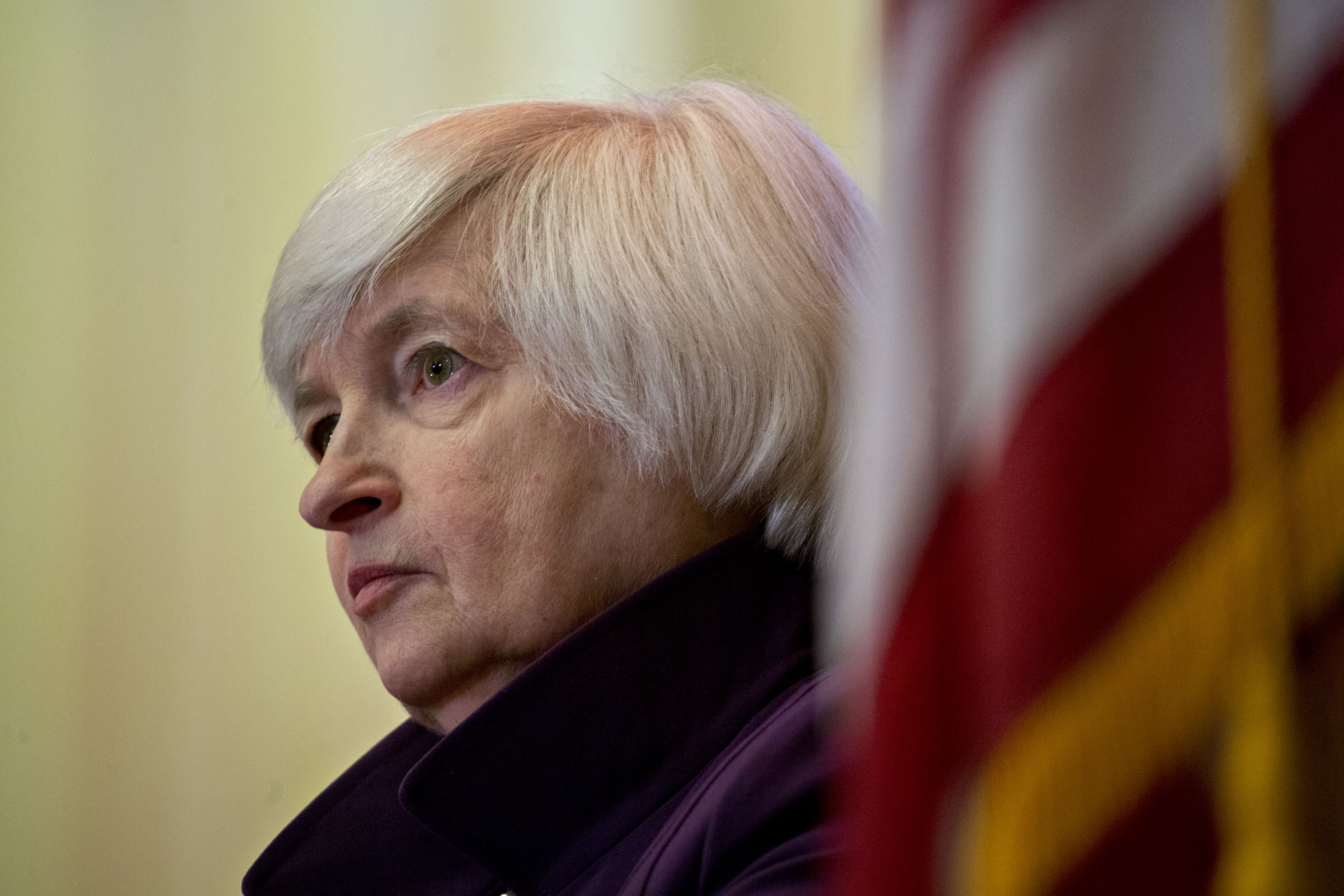 Fed Chair Janet Yellen Delivers Speech On Economic Outlook And Monetary Policy