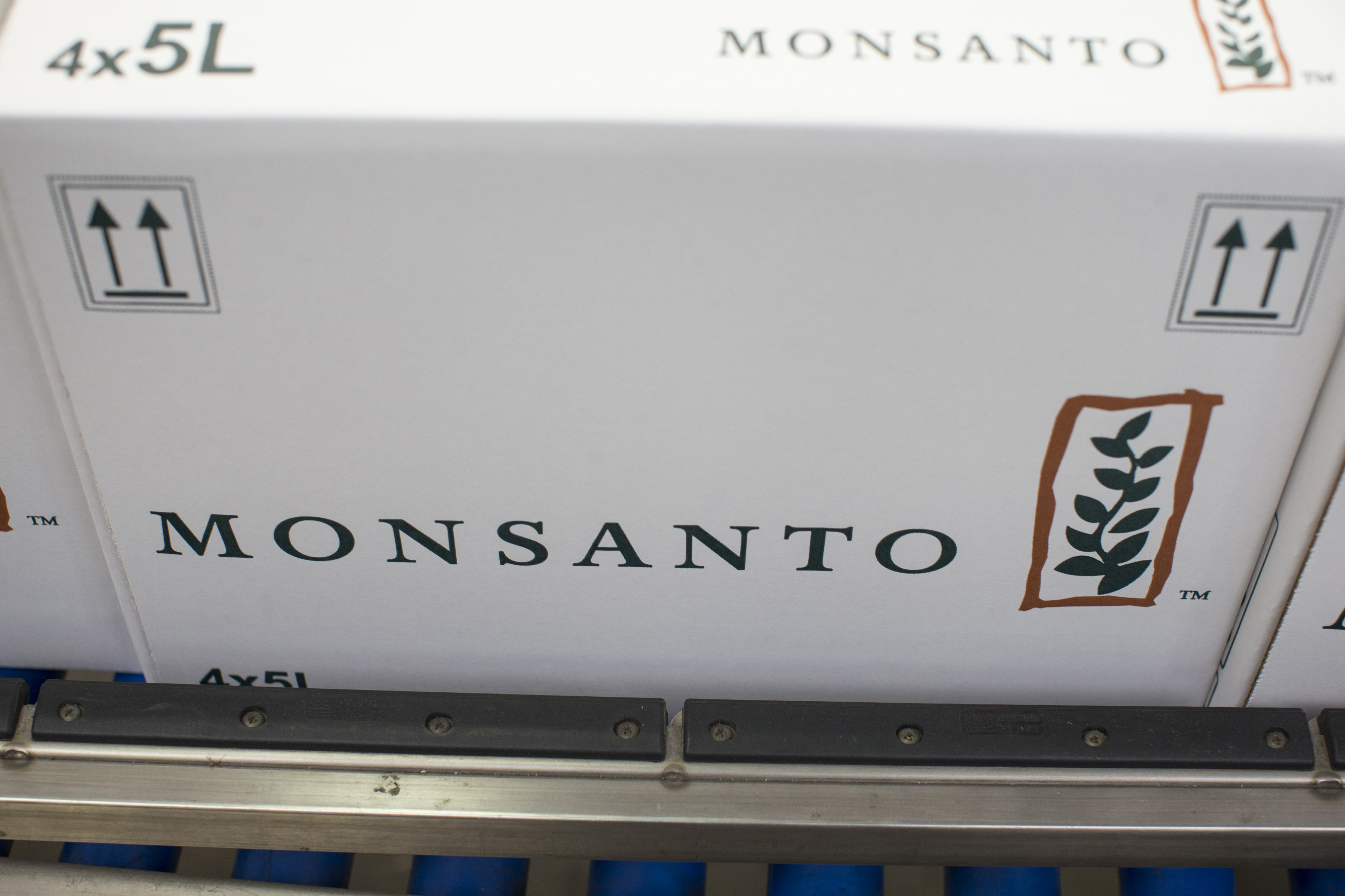 Roundup Herbicide Production And Shipping Operations At A Monsanto Co. Facility As Bayer AG Continue Acquisition Quest