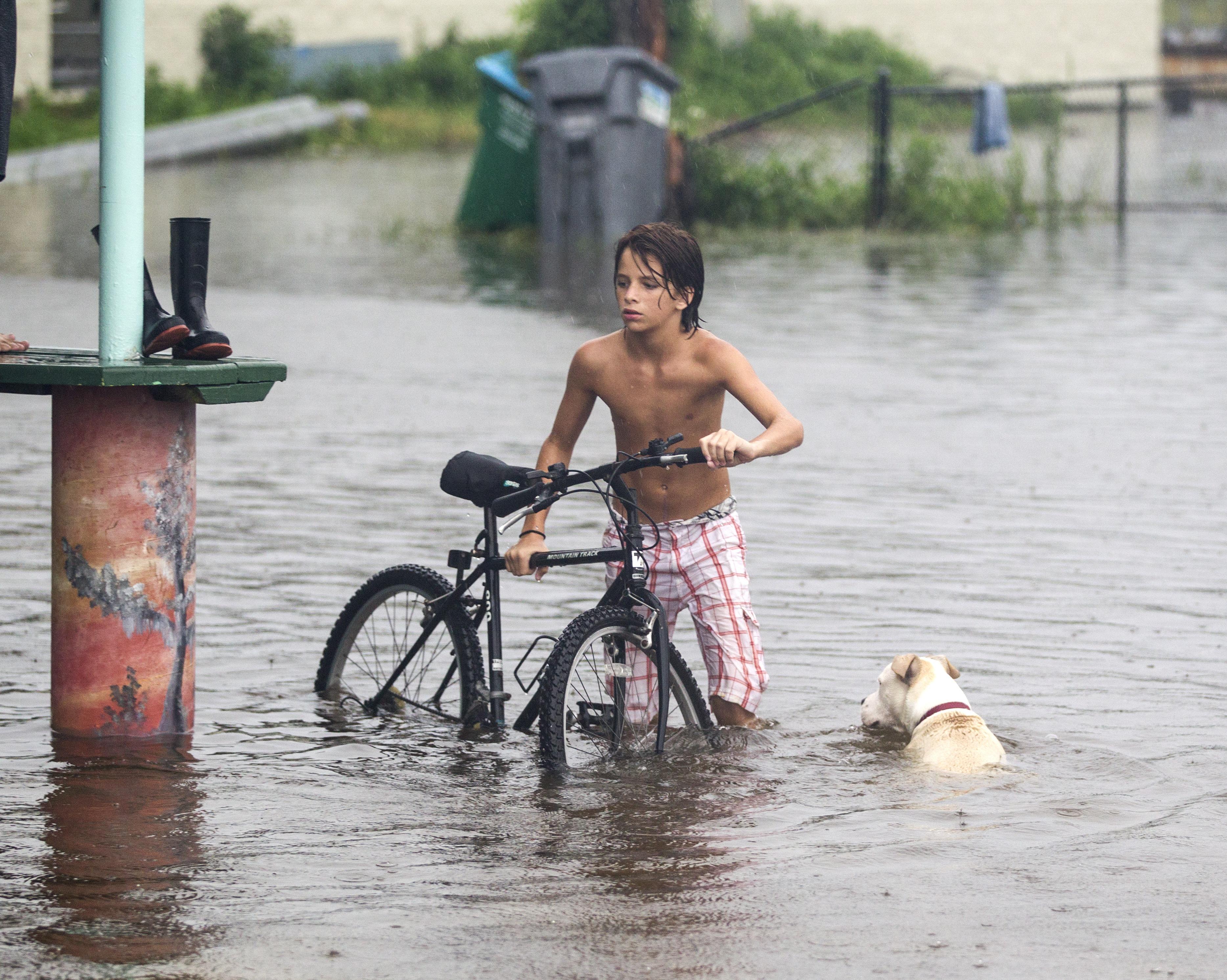 Hurricane Hermine Bears Down On Florida's Gulf Coast