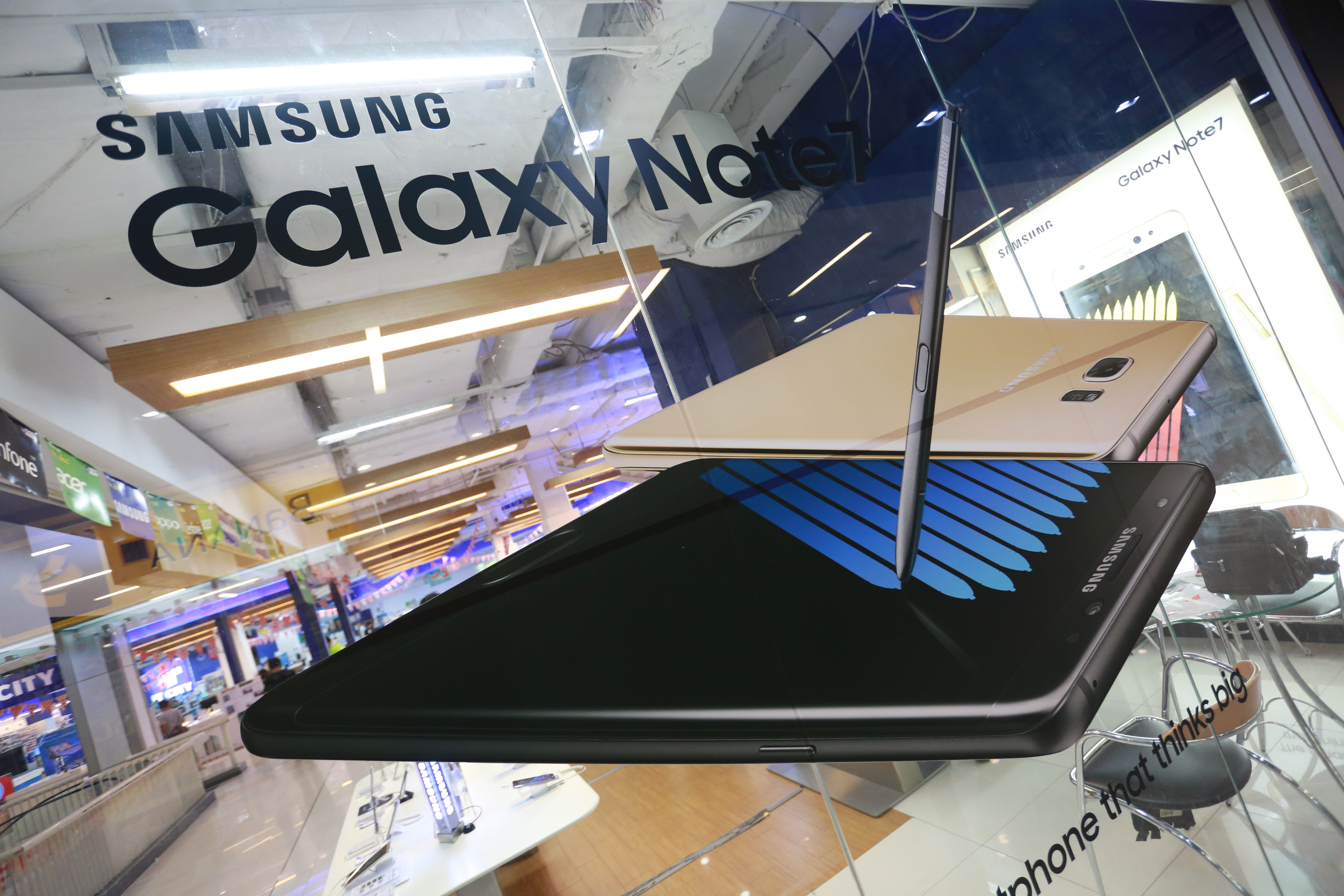 Samsung Electronic Company in Thailand announced a recall of