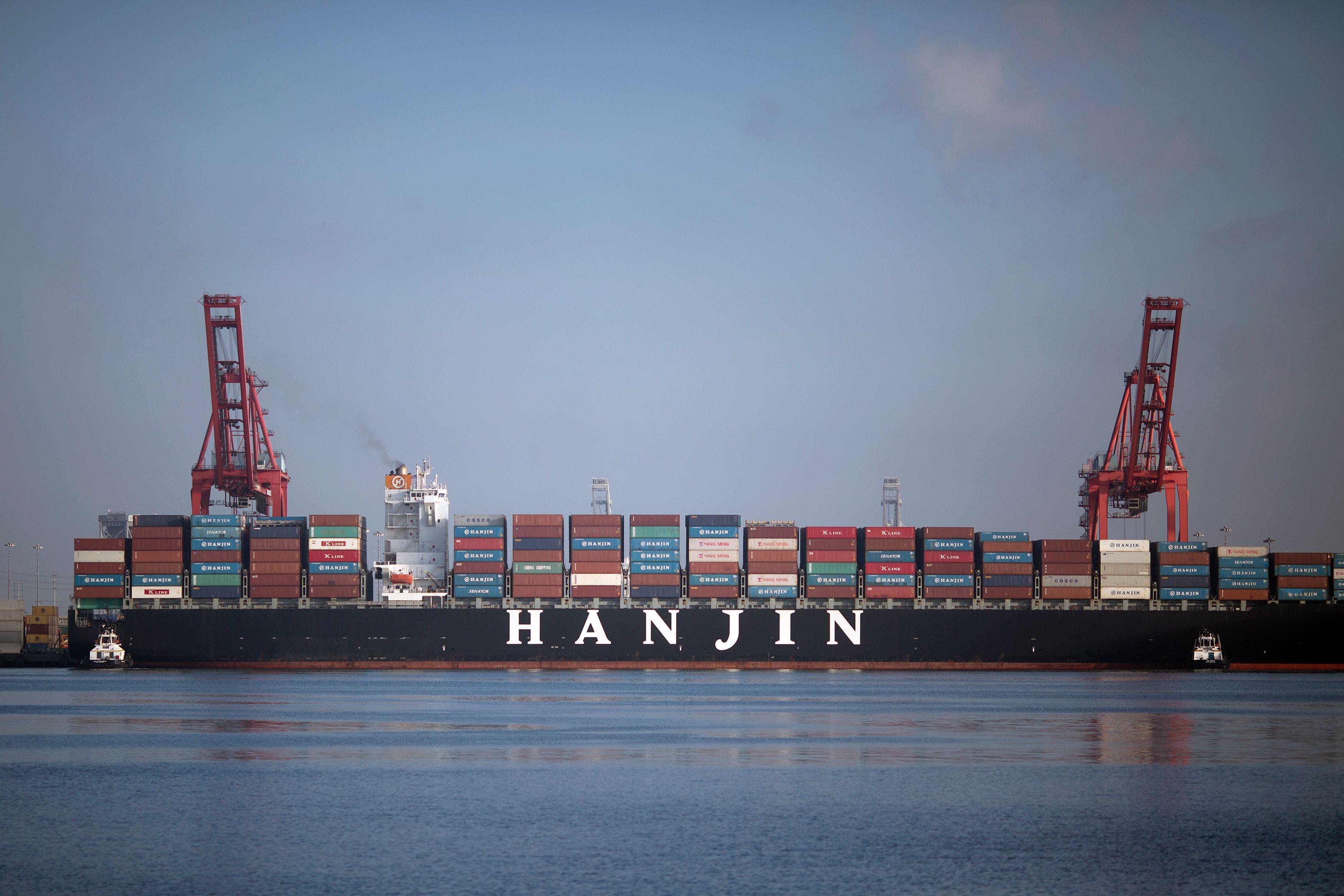US-SKOREA-SHIPPING-HANJIN