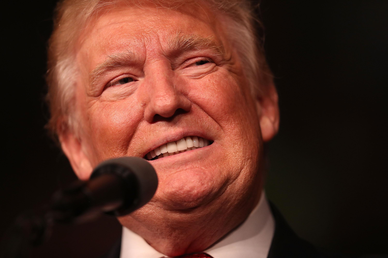 Donald Trump Campaigns In Estero, Florida