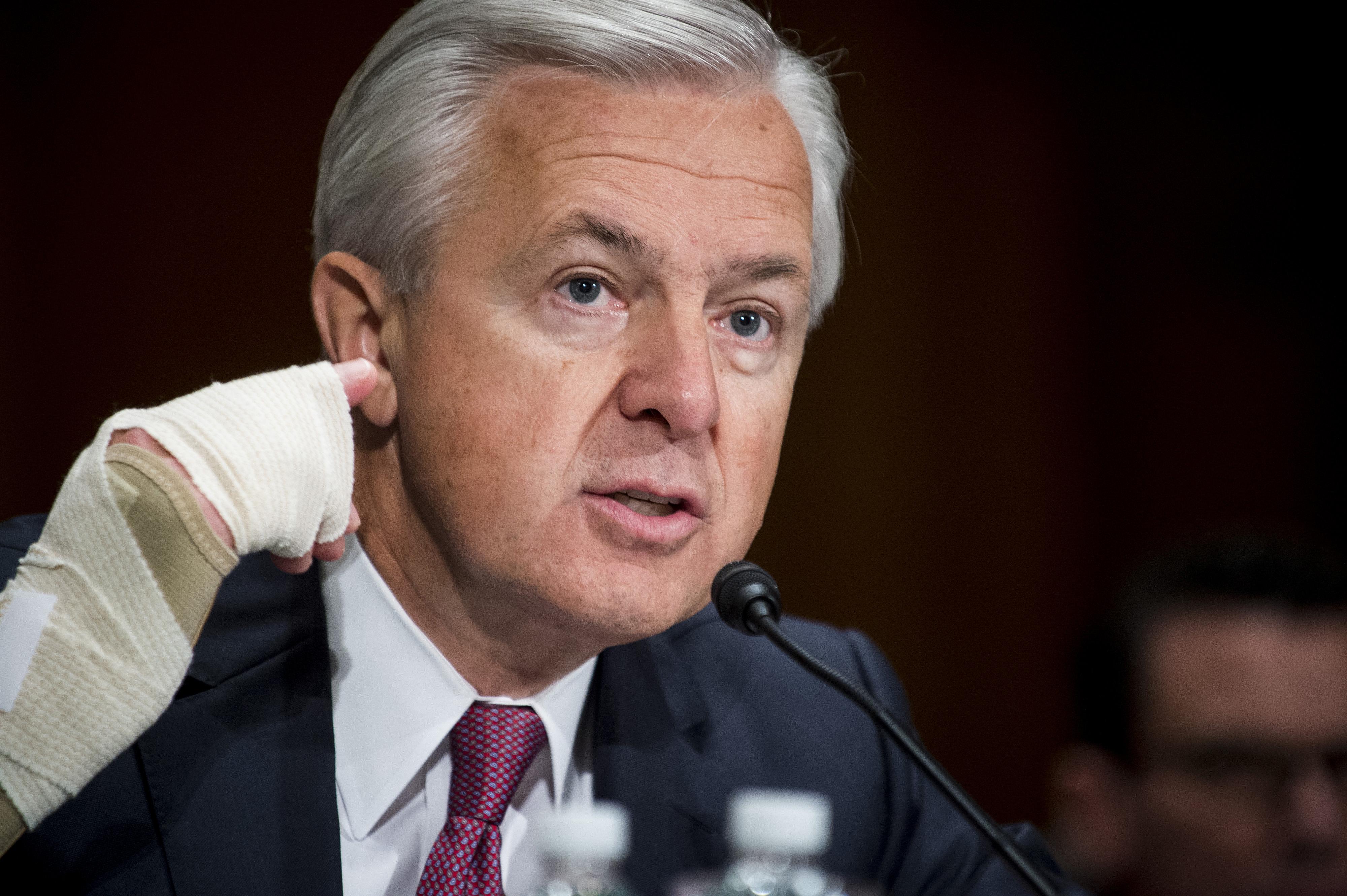 Wells Fargo CEO John Stumpf Testifies To Senate Banking Committee Over Alleged Misconduct