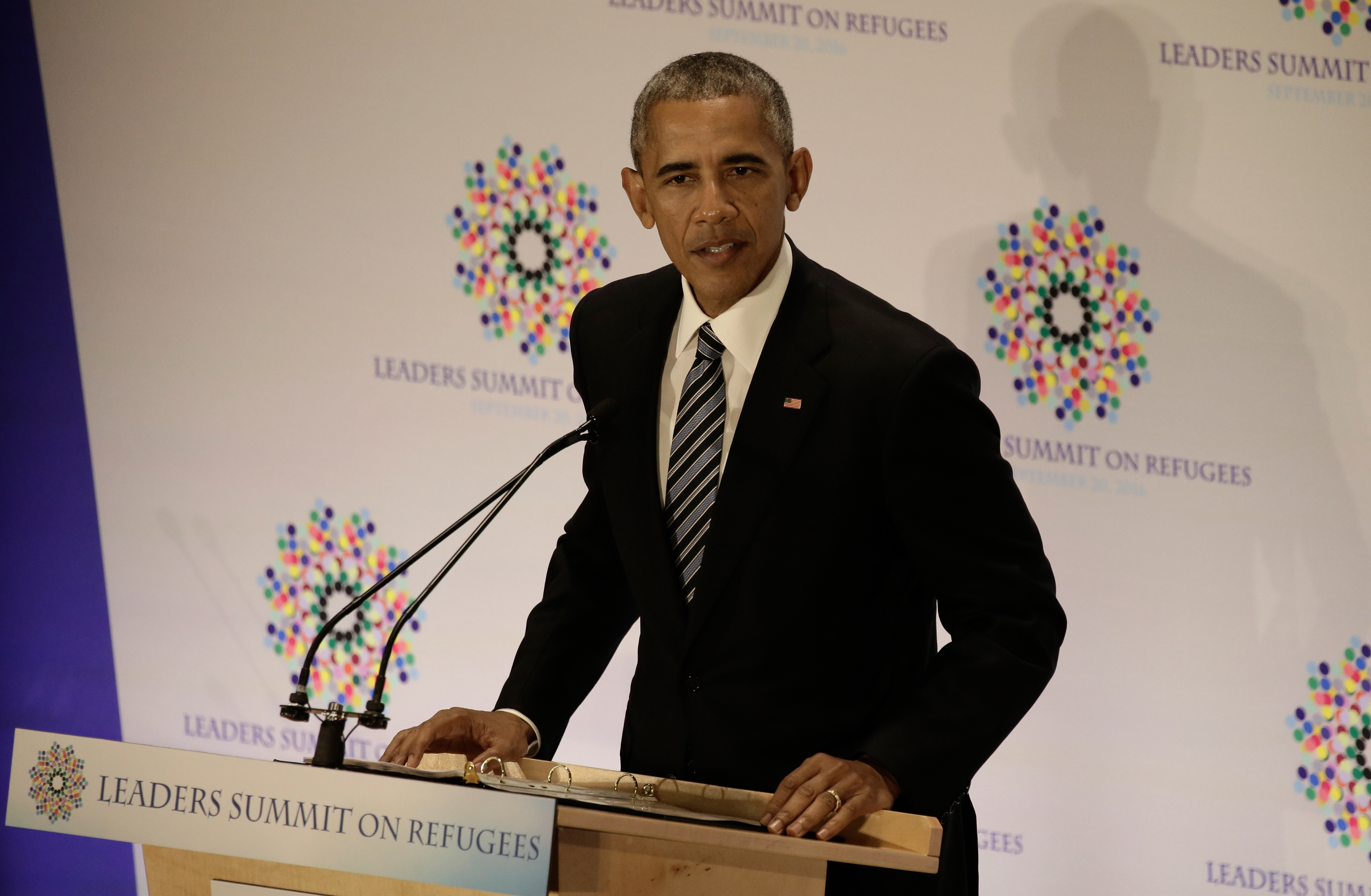 President Obama Addresses The 71st Session Of The United Nations General Assembly