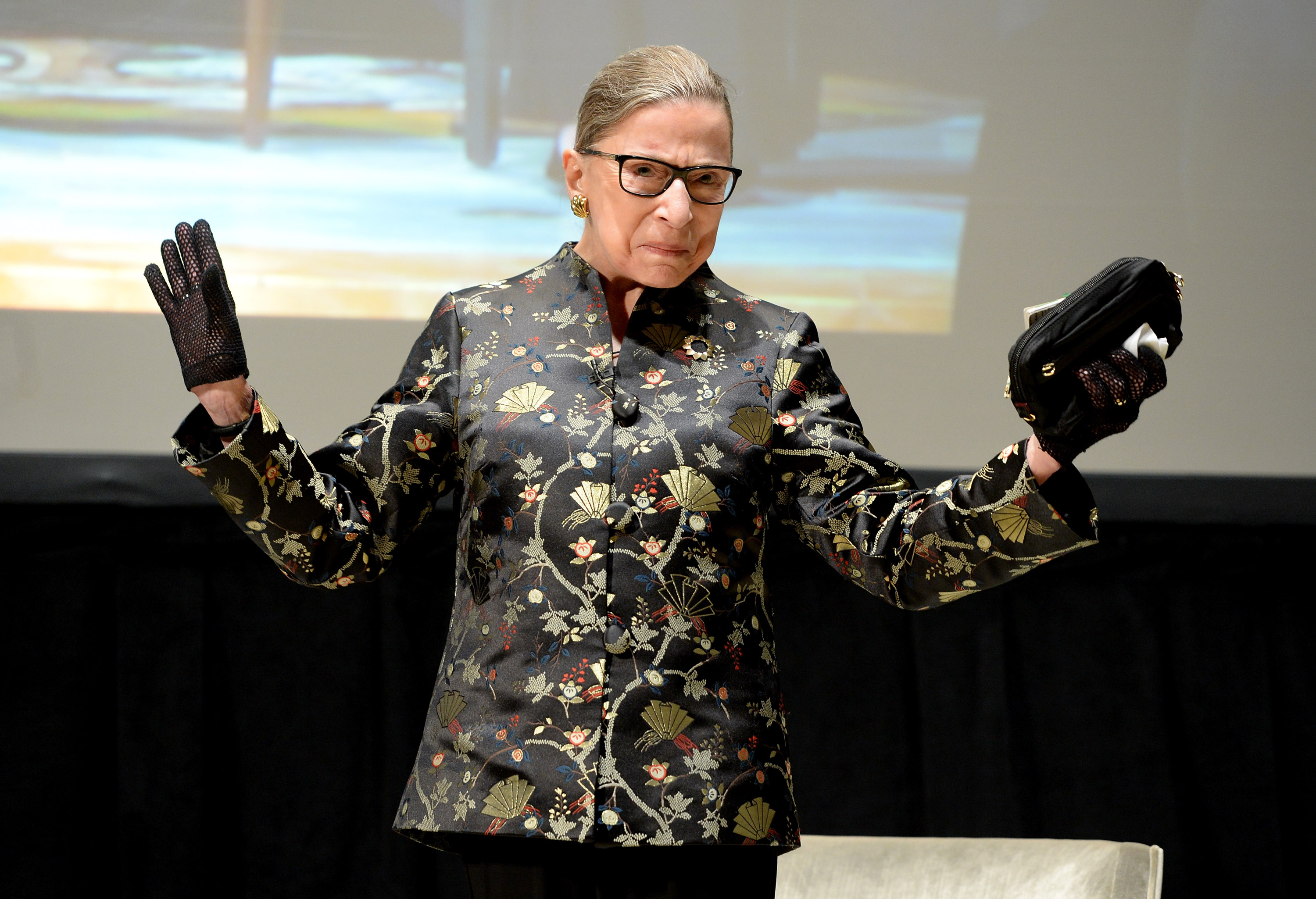 Ruth Bader Ginsburg The Supreme Court Justice Does 20 Push Ups A Day Fortune