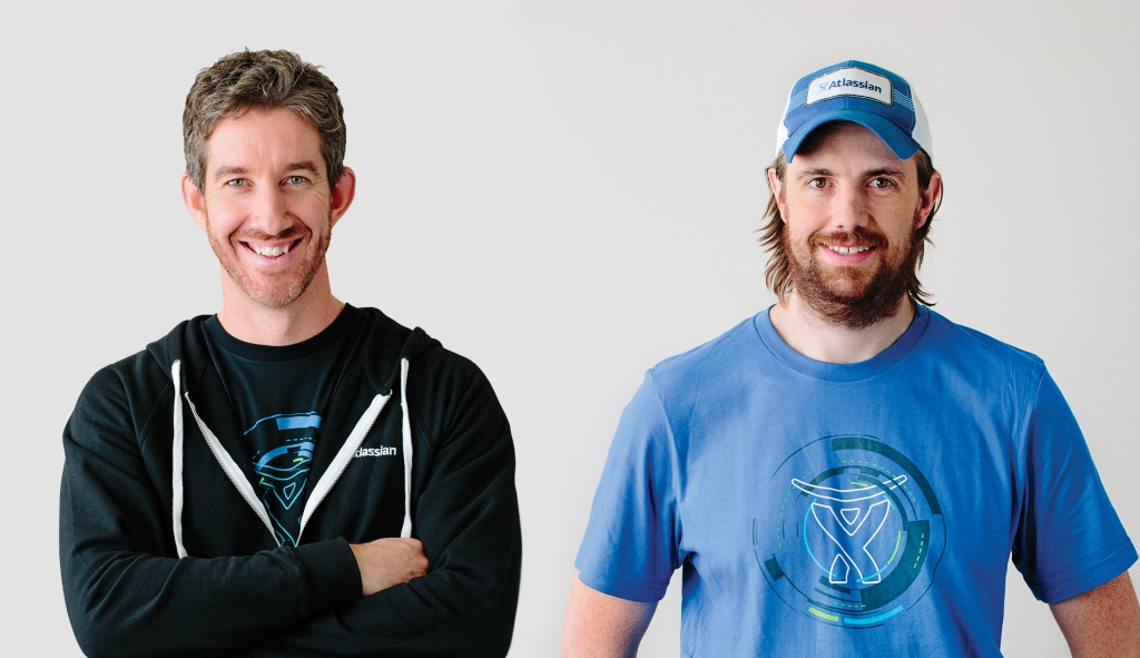 40Under40 profile Mike Cannon Brooke and Scott Farquhar