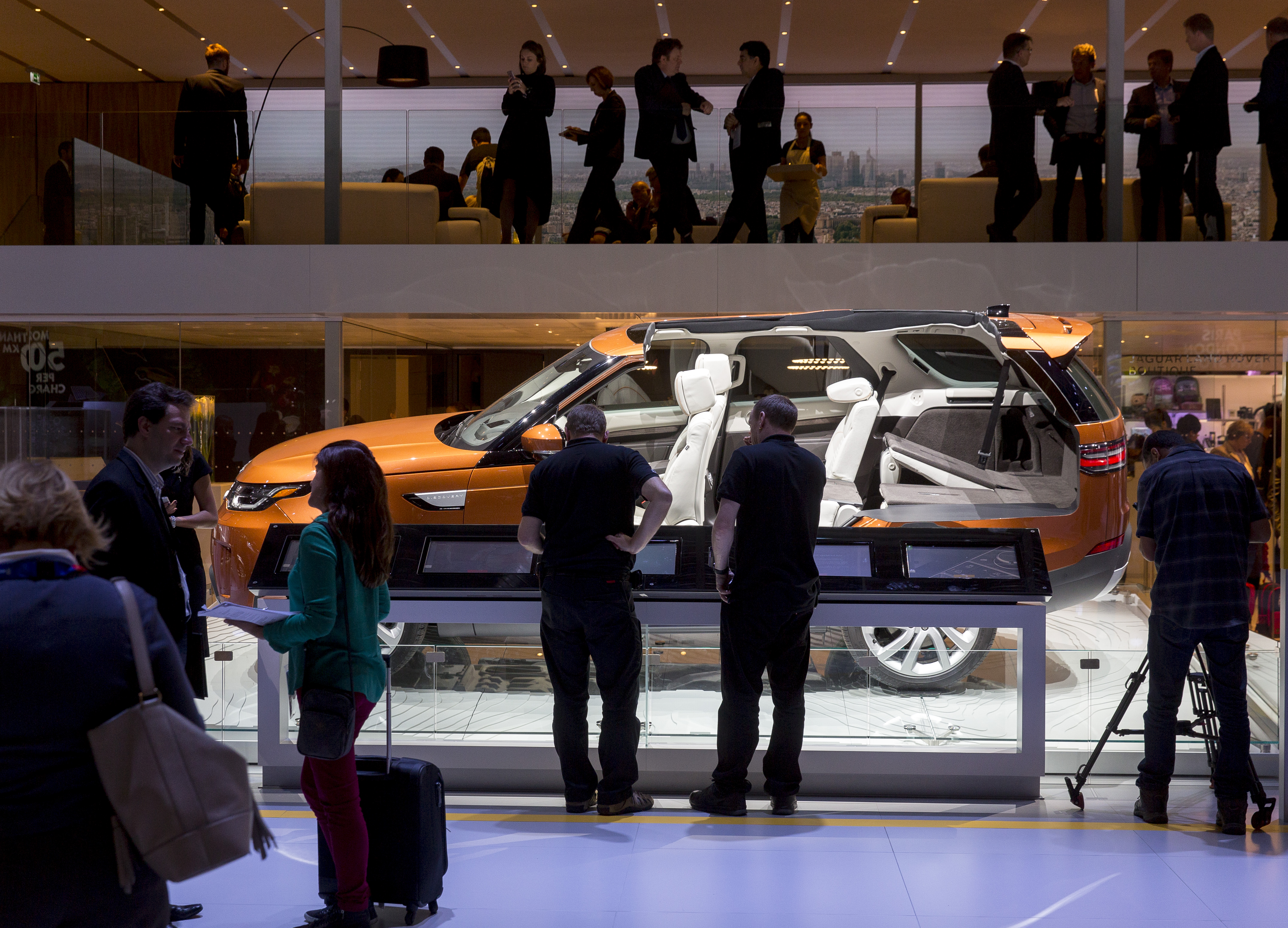 International Paris Motorshow, Land Rover Discovery