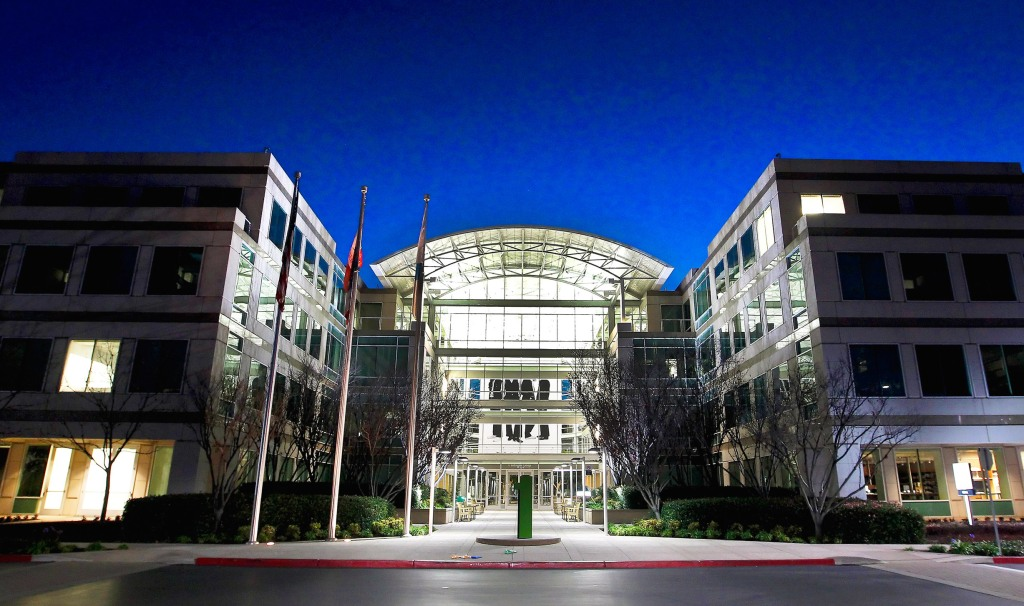 Apple's headquarters in Cupertino, Calif. is a businesslike place—and there's no free lunch.