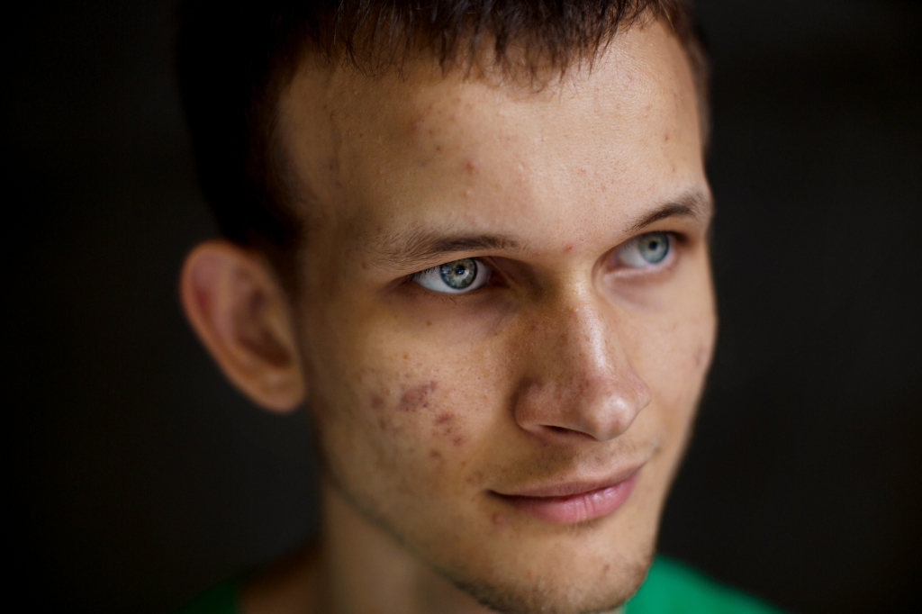 BOLD VISION Buterin wants to use his technology to radically re-architect the web, upending the current power structure. In the near future, he believes, entire companies could be controlled by crowdsourced algorithms rather than executives. Story on Crypto-currency. Vitalik Buterin created his own digital currency called Etherium. - PHOTO: Vitalik Buterin.-- Photographer: Julie Glassberg for Fortune.