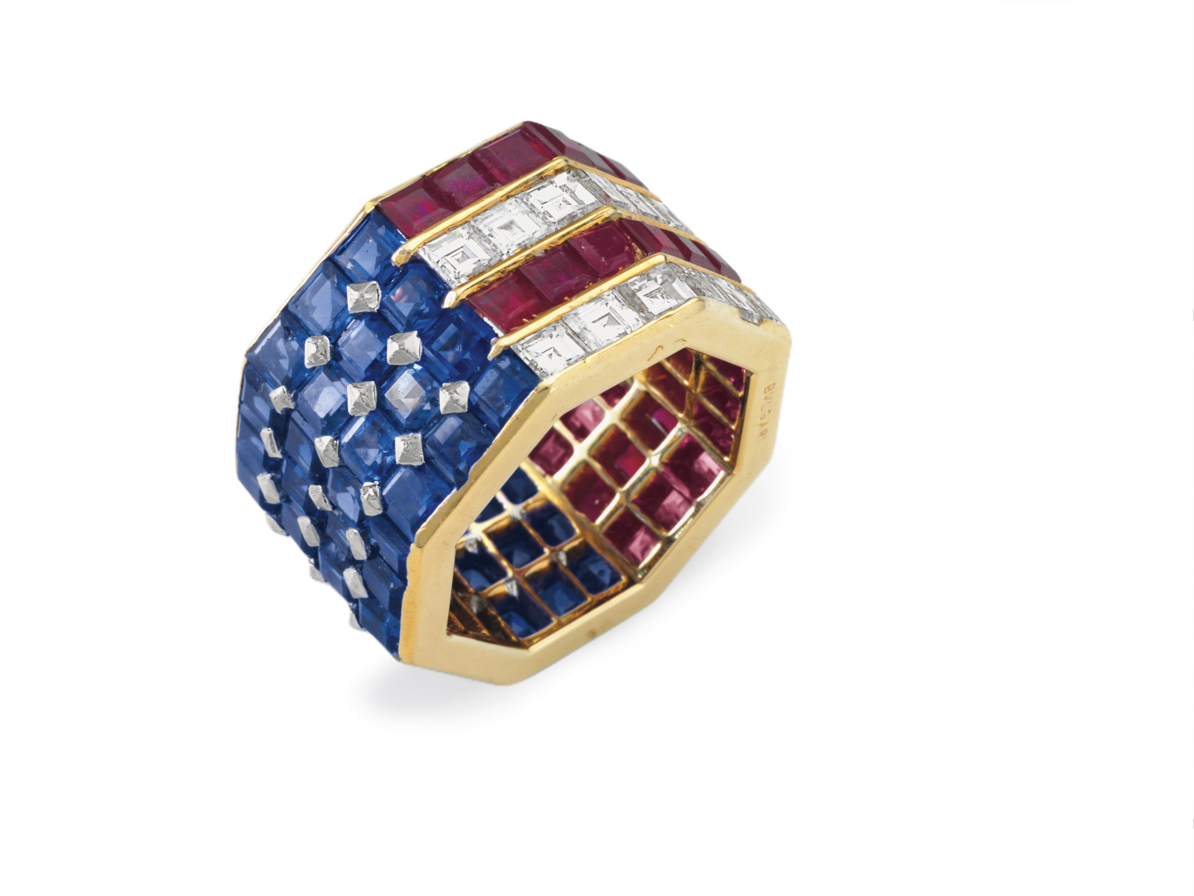 A Bulgari-made ring owned by Nancy Reagan sold for an impressive $319,500 at Christie's this week.