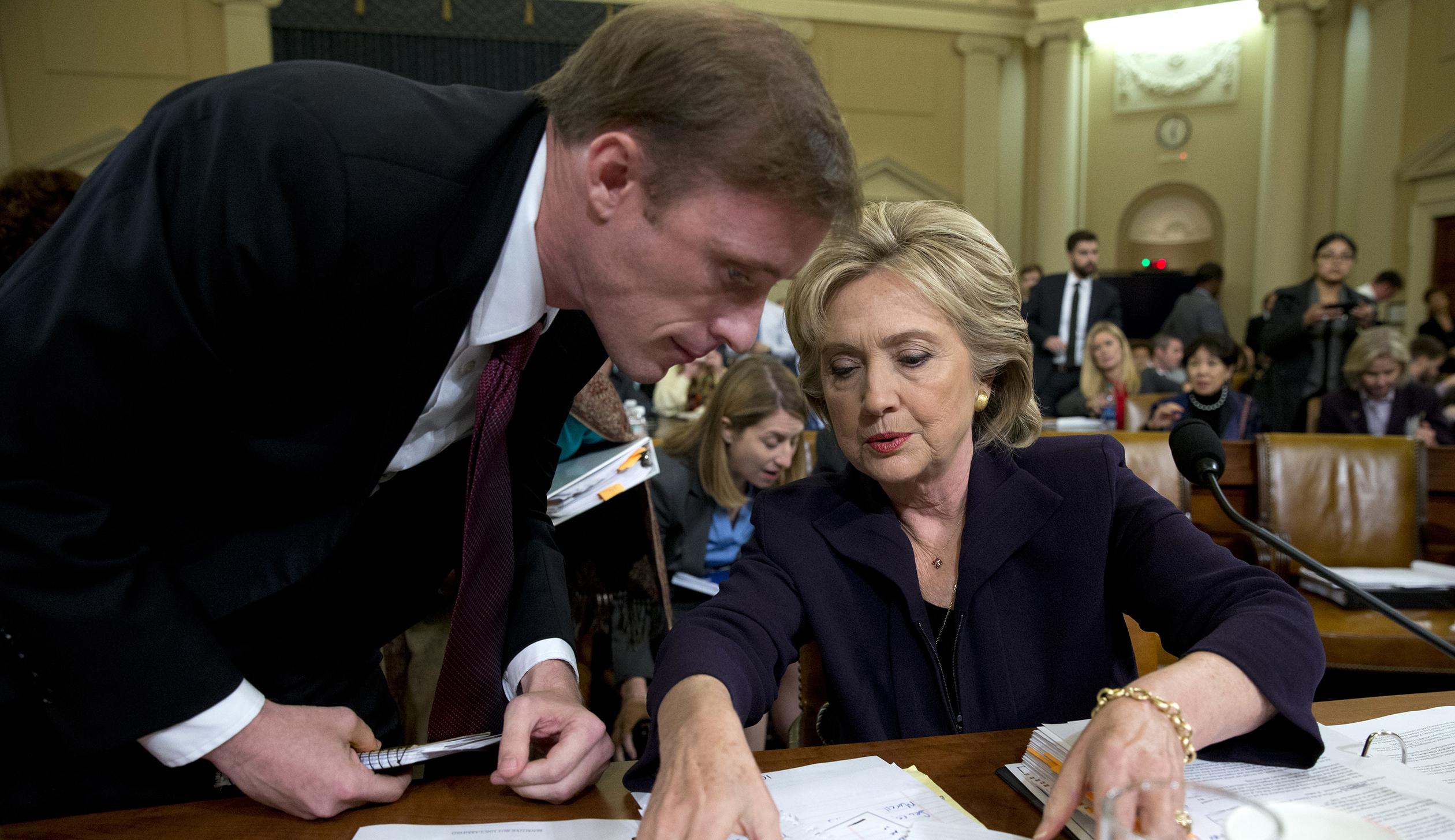 Hillary Rodham Clinton, Jake Sullivan
