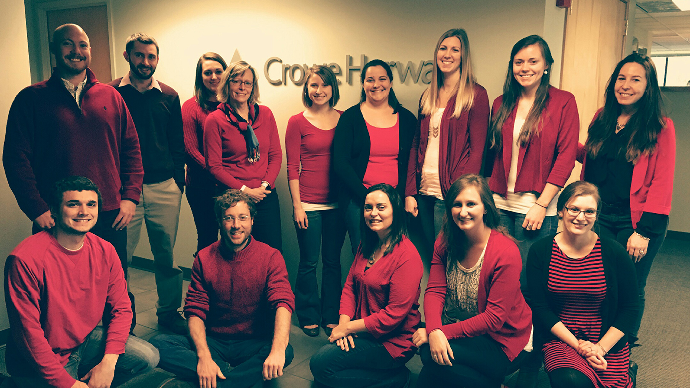 VT Office Go Red Day!