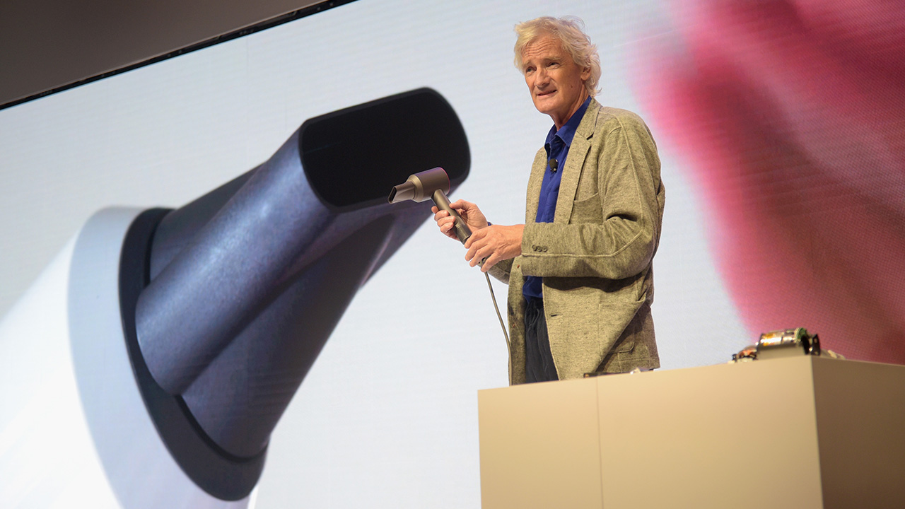 James Dyson is getting up close and personal.
