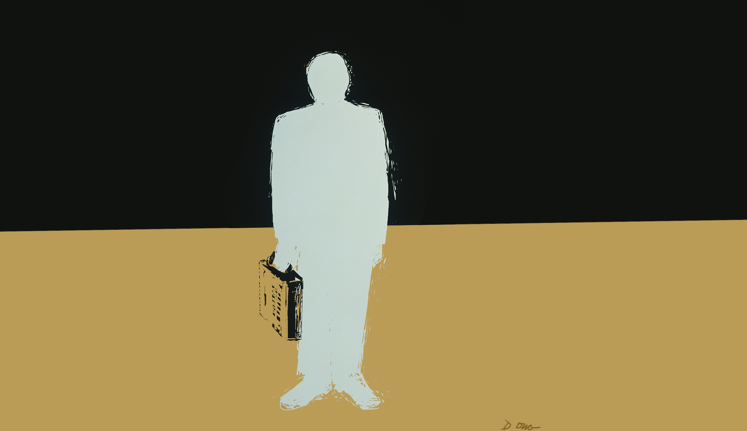 Invisible man, Diana Ong, computer graphics