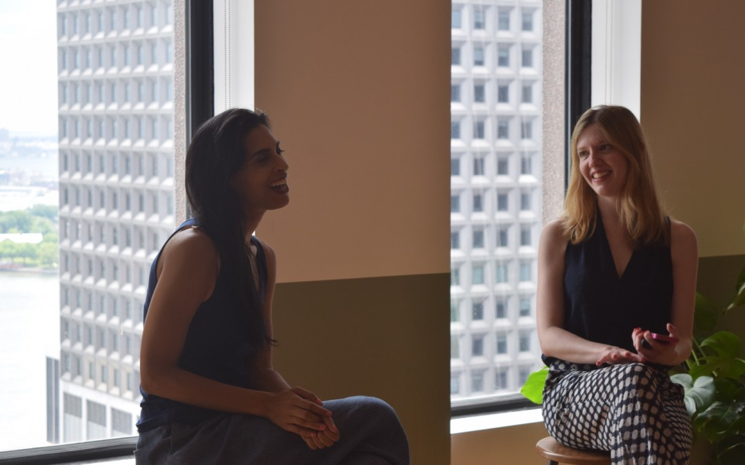 Anu Duggal (left)—On raising money as a female founder. As heard at Brunchwork's NYC startup workshop.