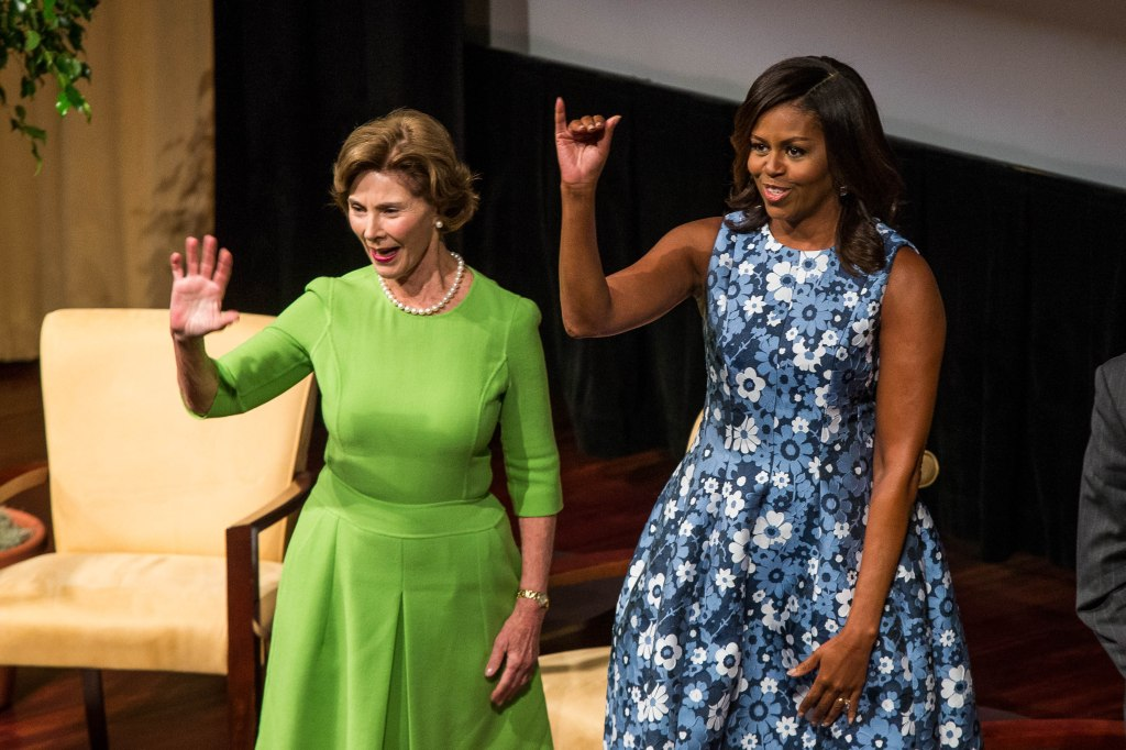 US-POLITICS-FIRST LADIES