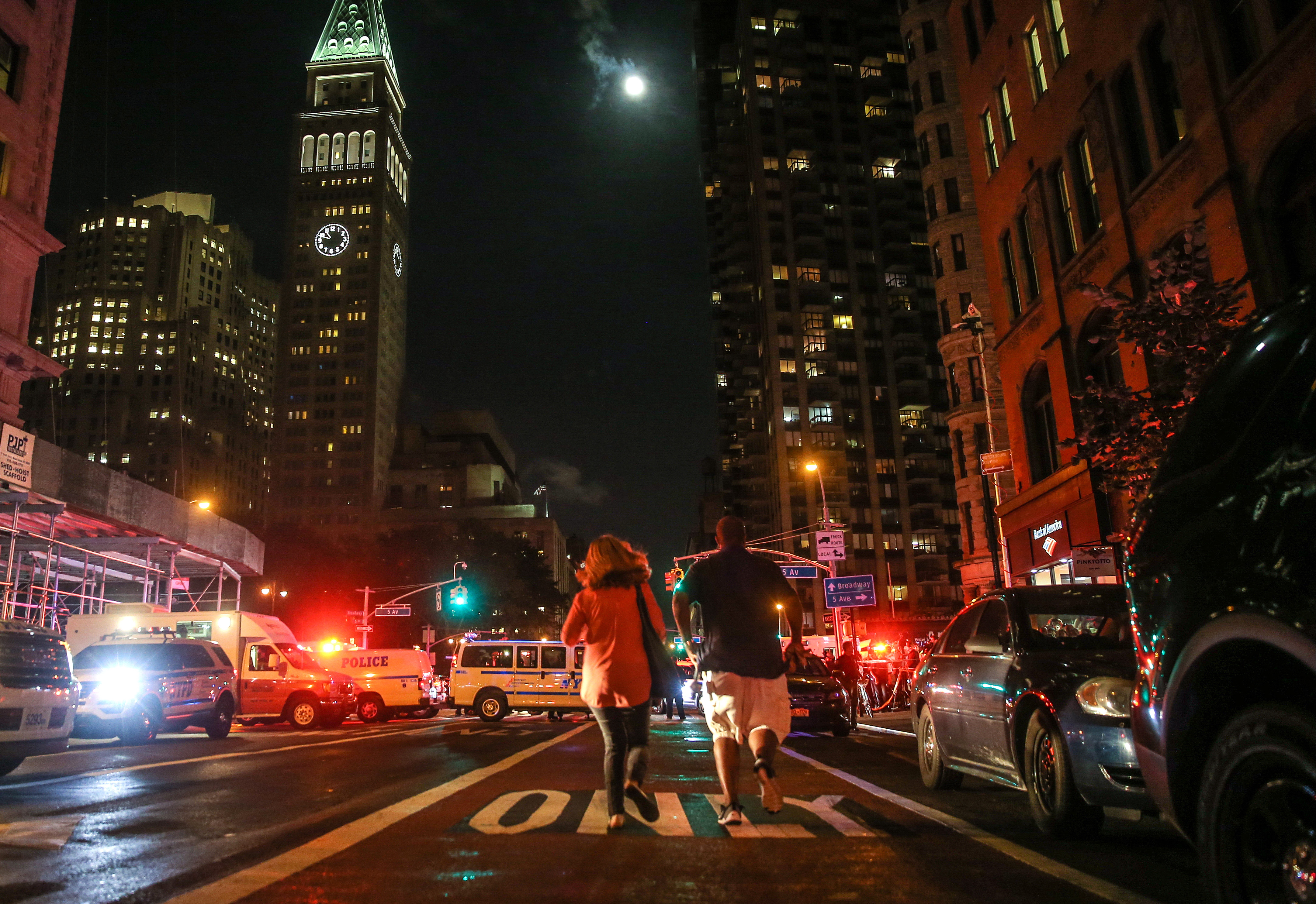 Manhattan, New York City hit by explosion