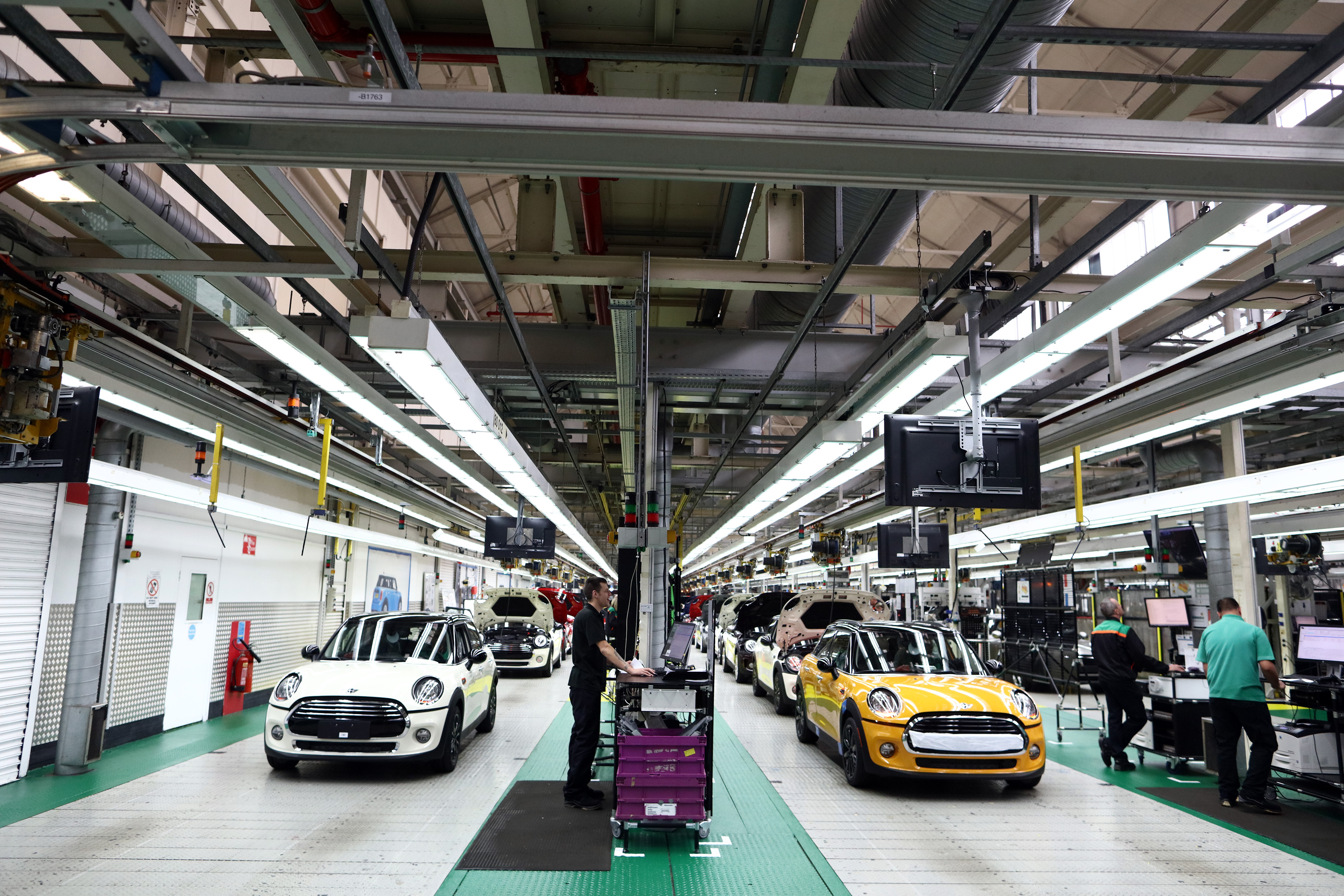 Final Assembly Of BMW AG Mini Automobiles At Oxford Plant