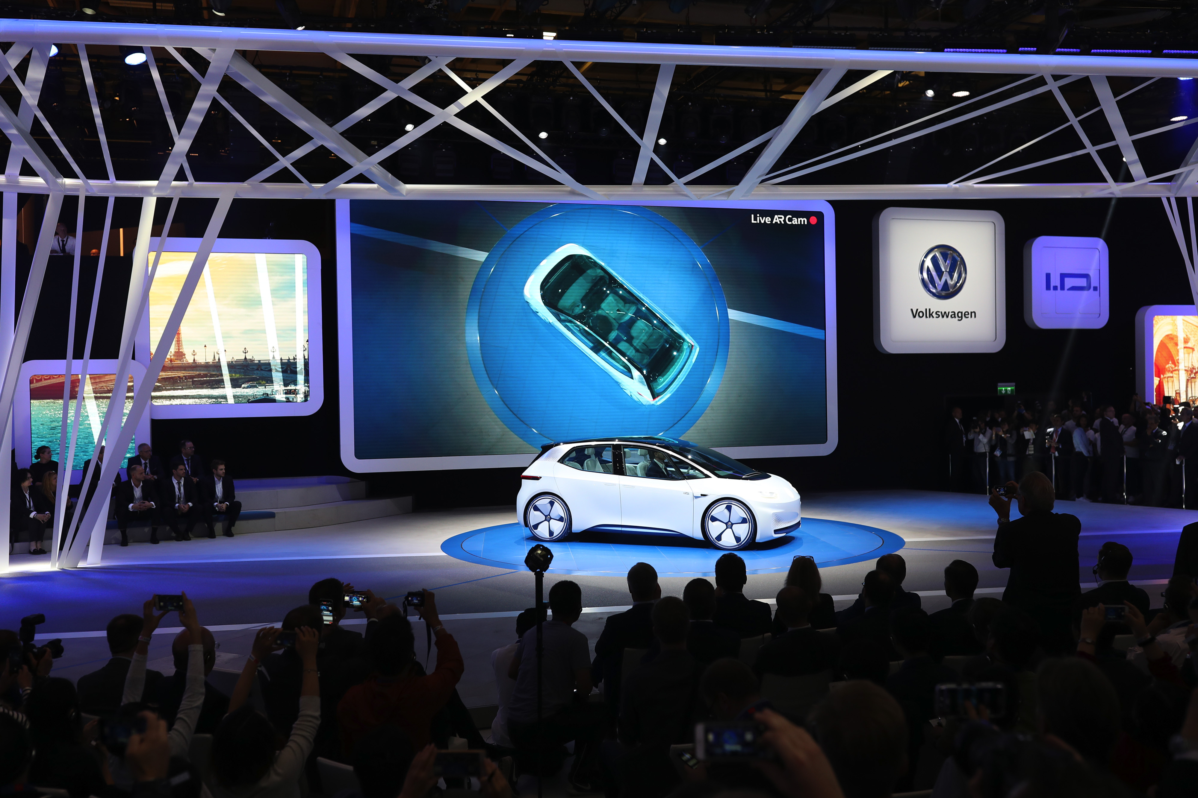 The 2016 Paris Motor Show Day One