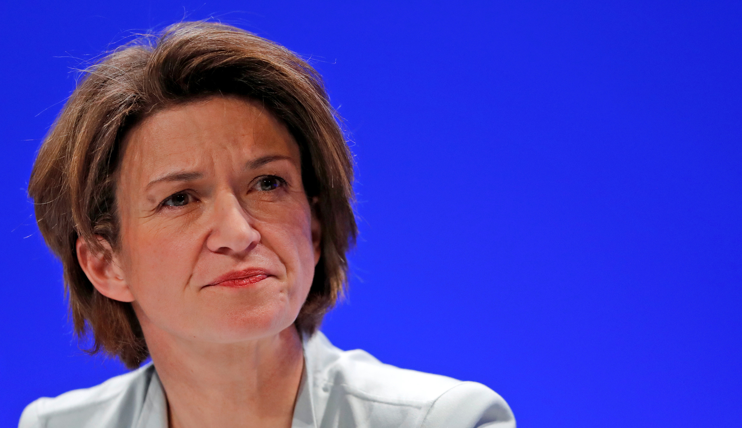 Isabelle Kocher, new CEO of gas and power group Engie, attends the group shareholders general meeting in Paris