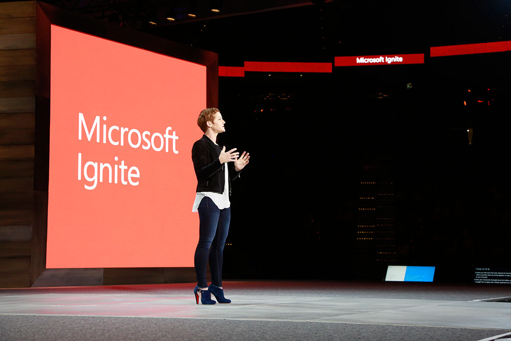 Julia White, corporate vice president, Microsoft Cloud Platform.