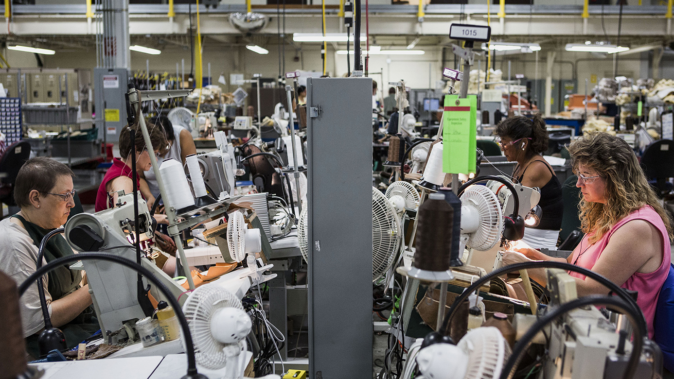 Operations Inside The L.L. Bean Manufacturing Facility