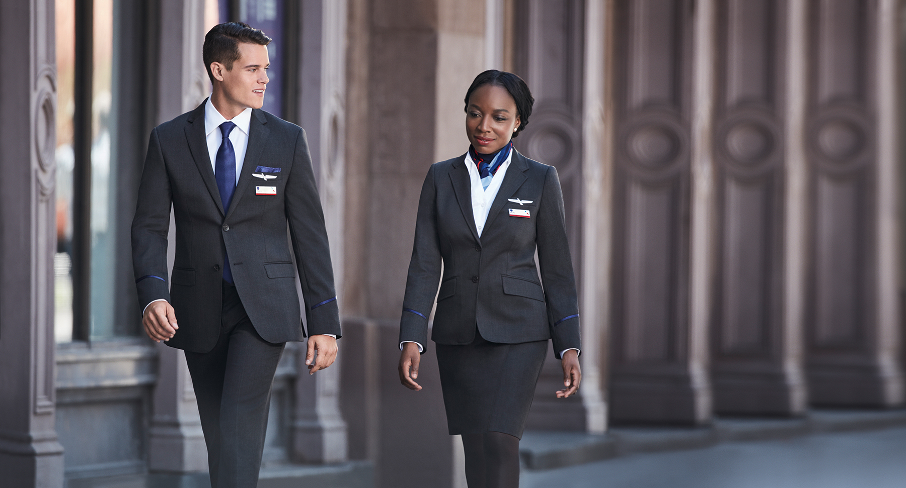 American Airlines uniform USE THIS
