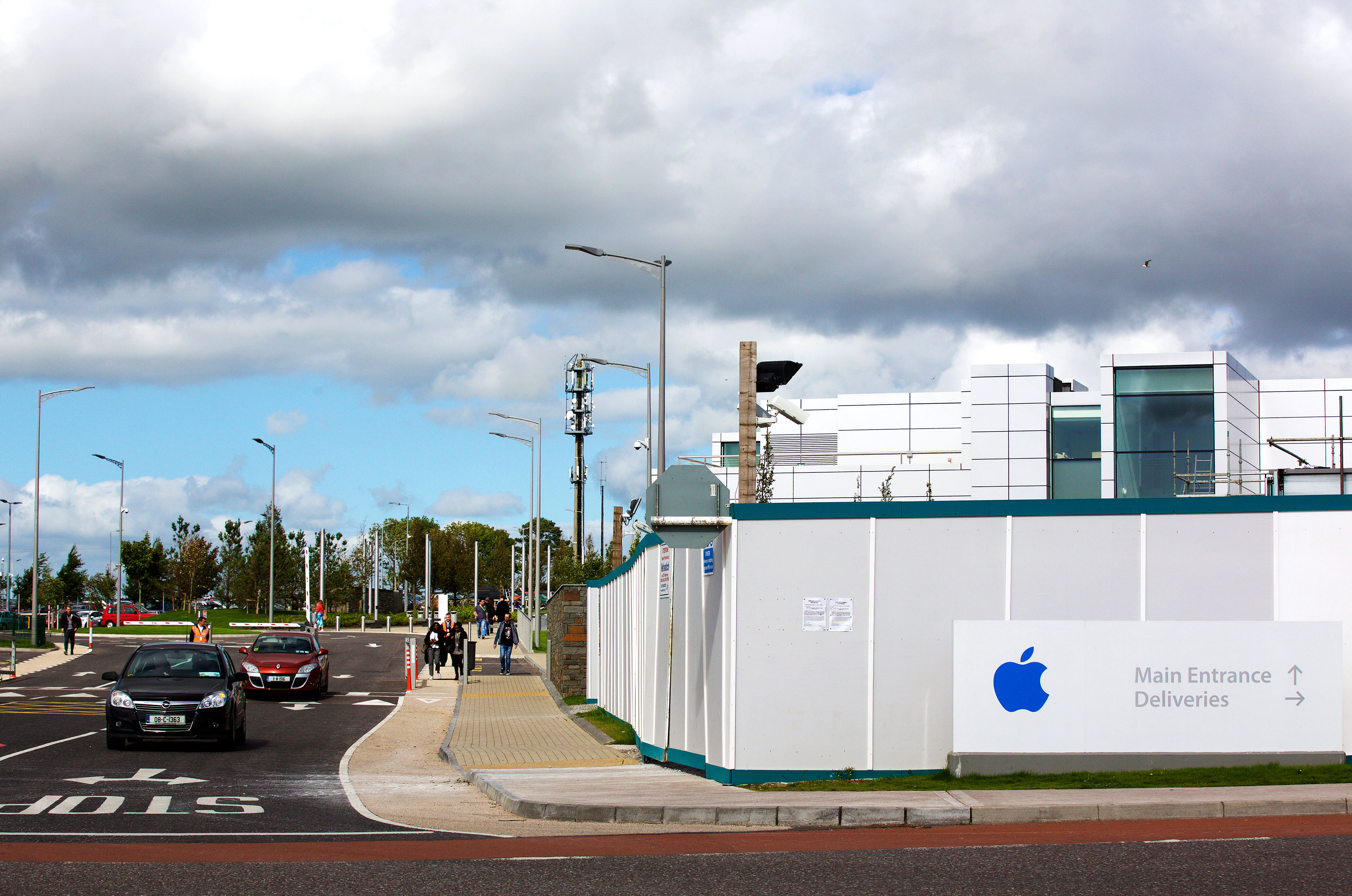 Apple Inc. Headquarters In Ireland As They Face $14.5 billion Tax Bill