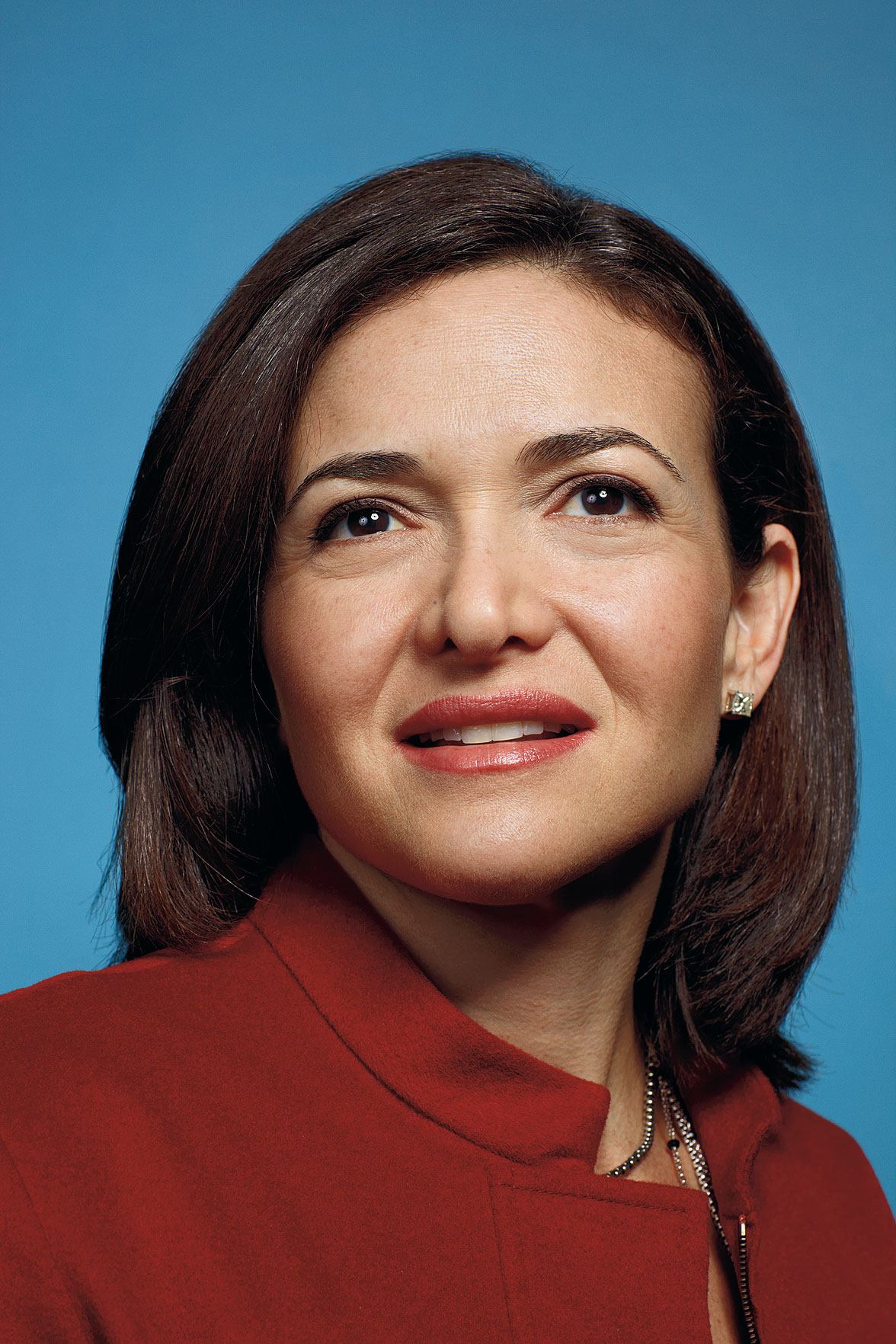 Sheryl Sandberg, photographed at home, august 2009