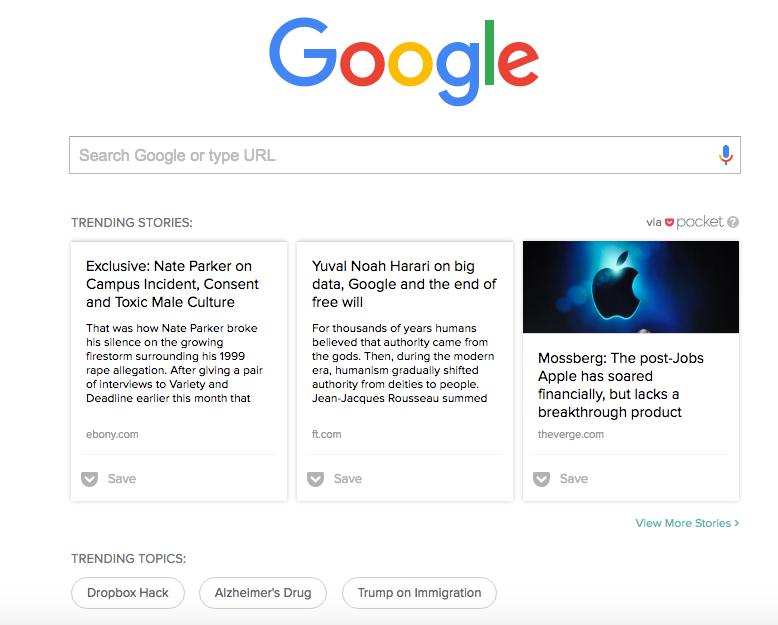 Google Trending Stories