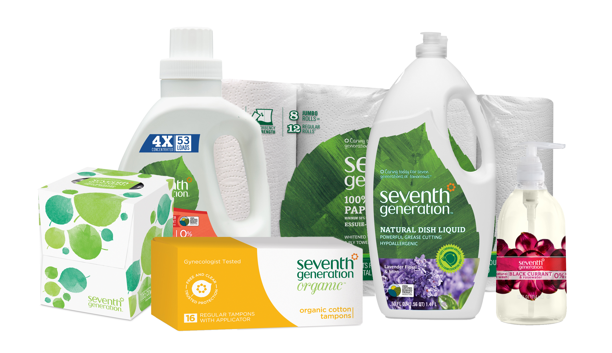 Unilever is buying eco-friendly cleaning products company Seventh Generation.