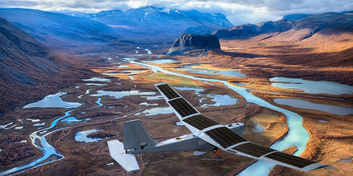How Solar Can Keep a Drone Flying All Day