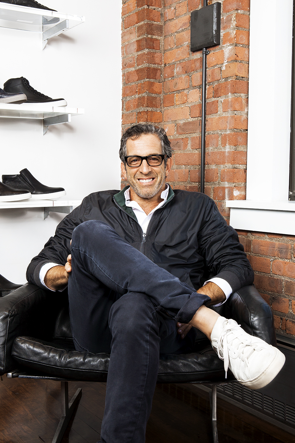 Kenneth Cole at the company's headquarters in New York.