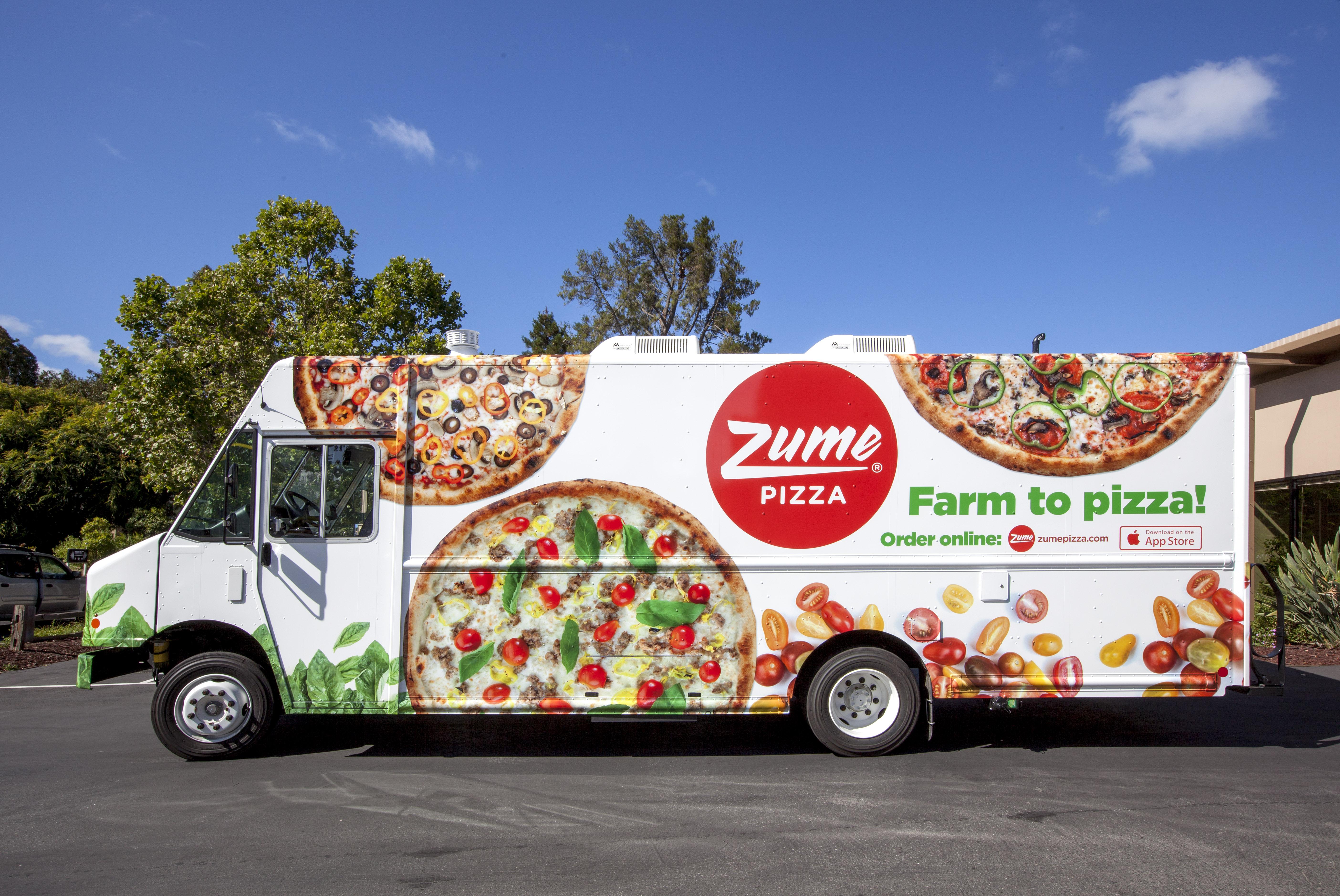 Zume Pizza truck.