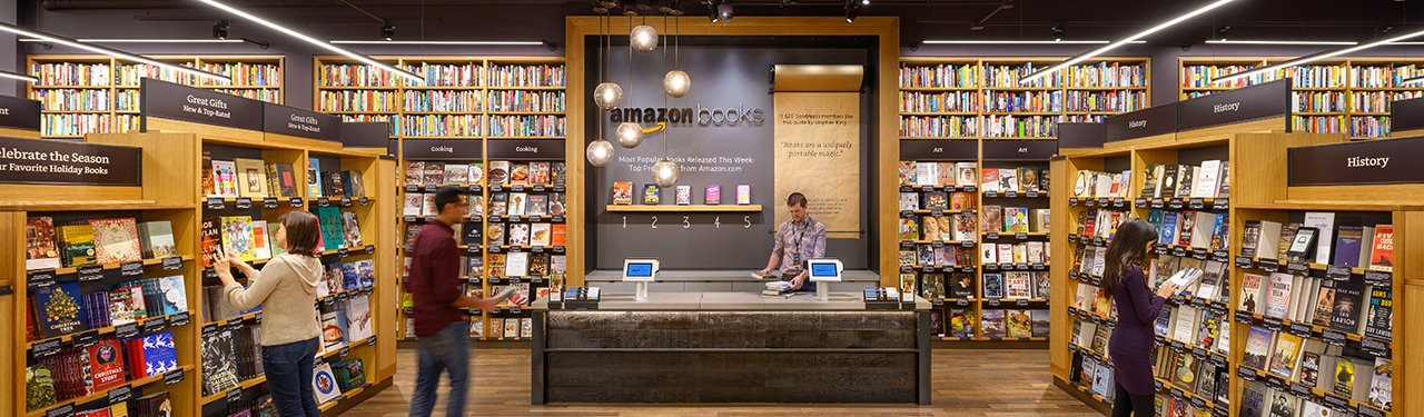 New Amazon book store