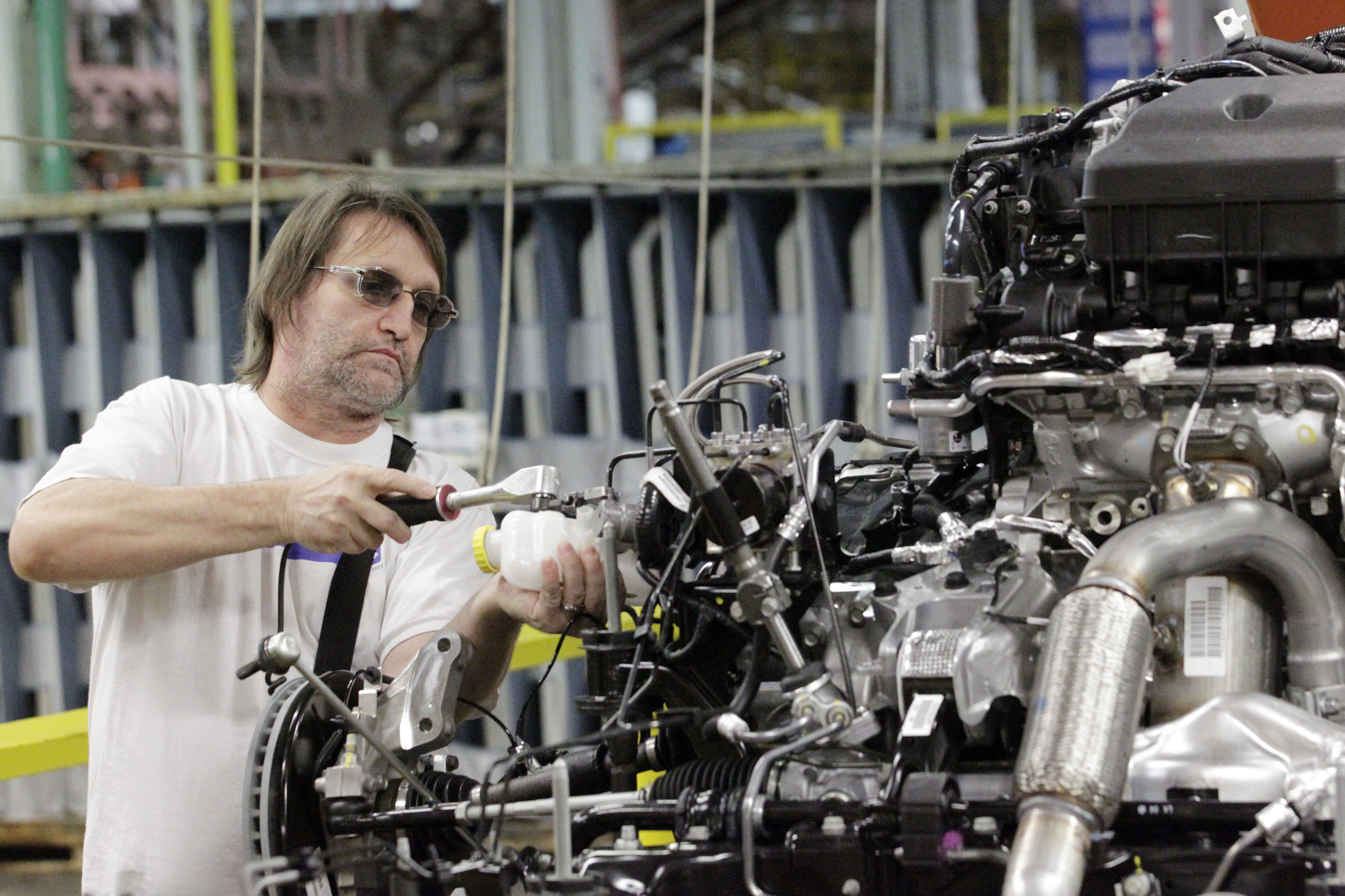 Chrysler Group Celebrates Production Of New 2011 Minivan At Windsor Assembly Plant