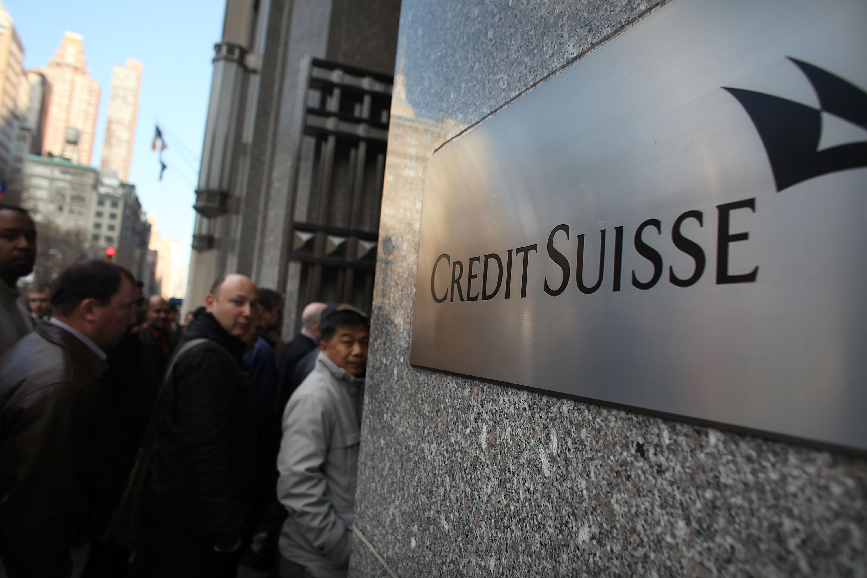 Bomb Scare At Credit Suisse Proves False