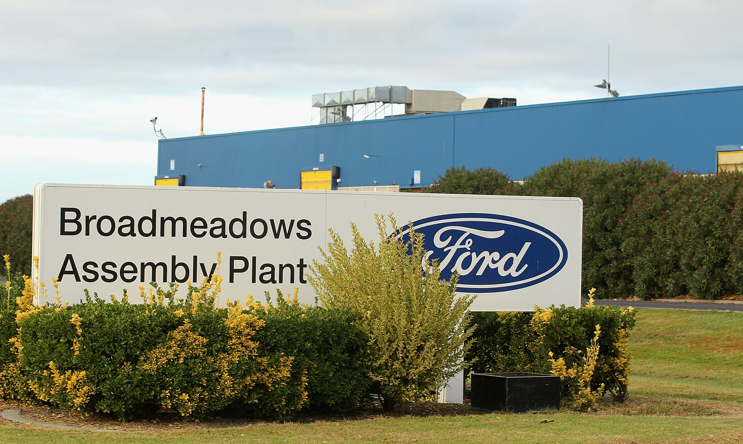 Ford Factories Halt Production For One Week