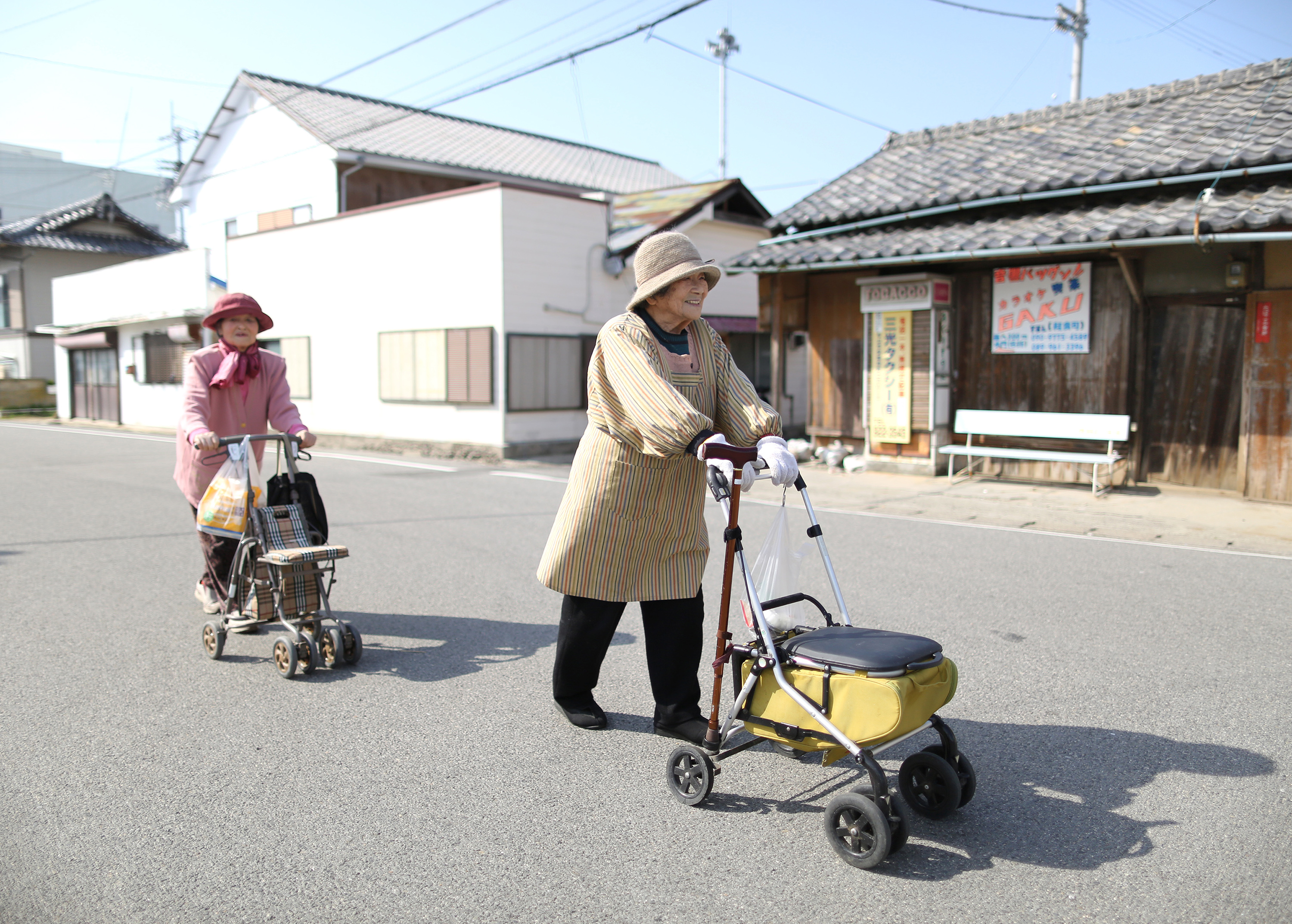 Images Of The Elderly In Rural Japan