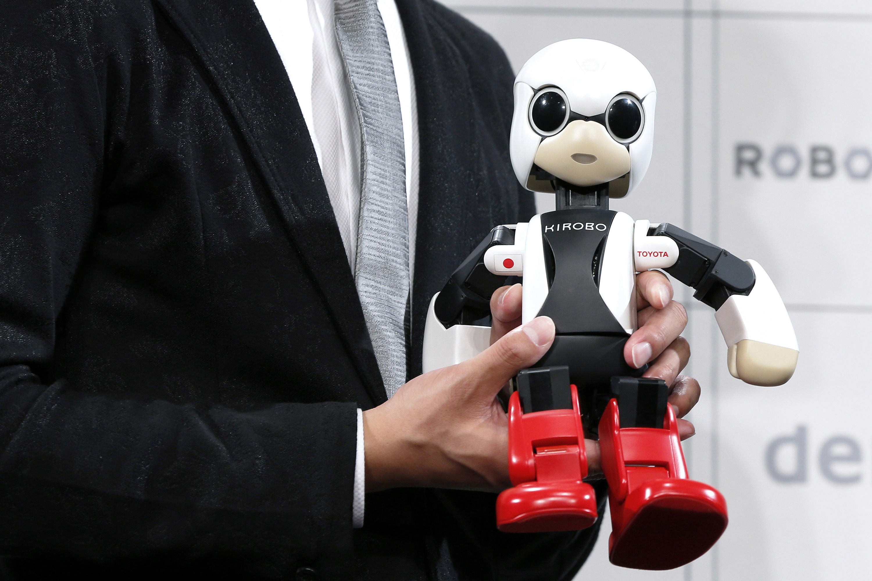 Toyota Holds News Conference On Humanoid Robots