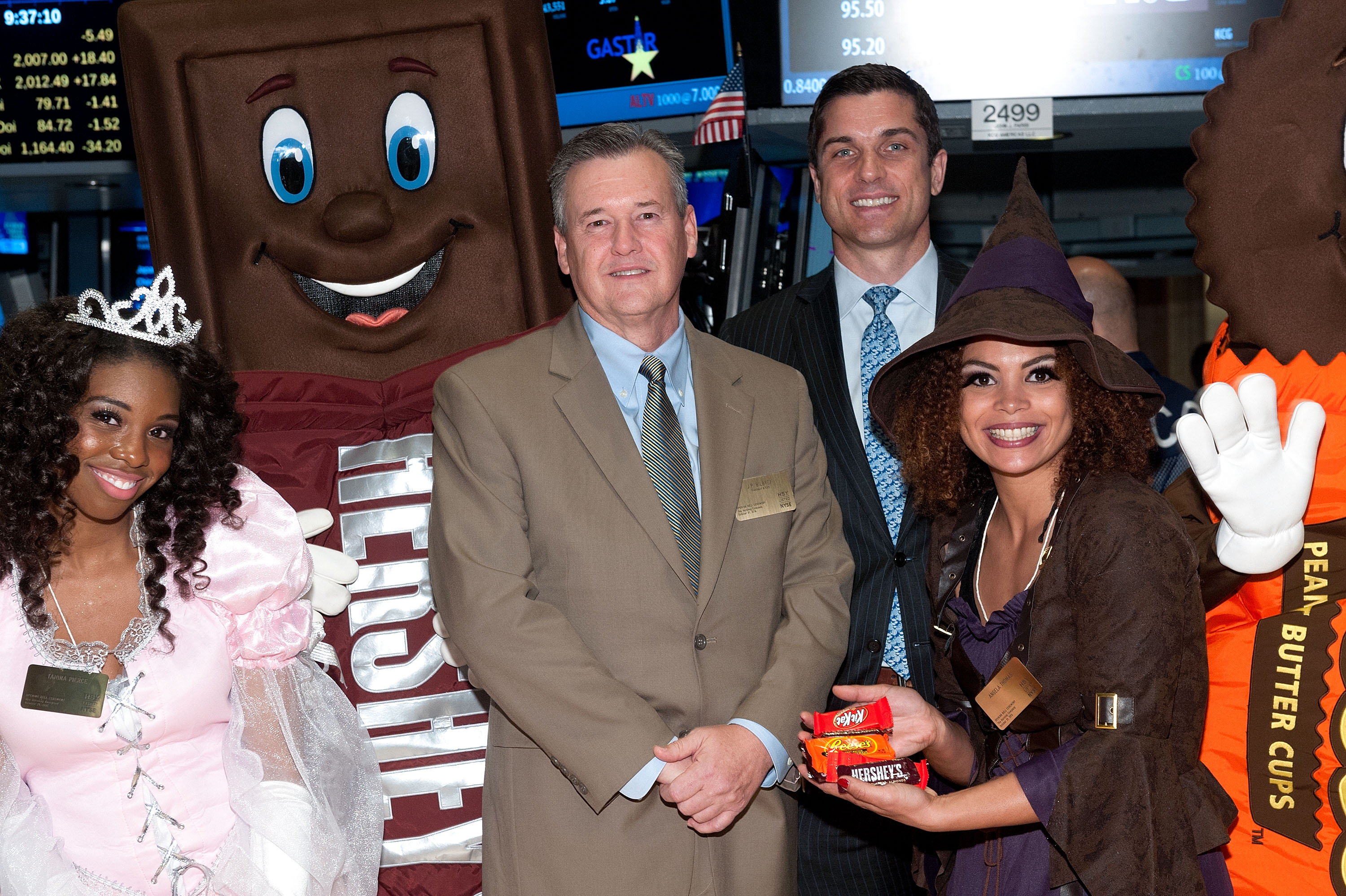 "The Hershey Company ""Spook-Tacular"" Season Rings The NYSE Opening Bell"