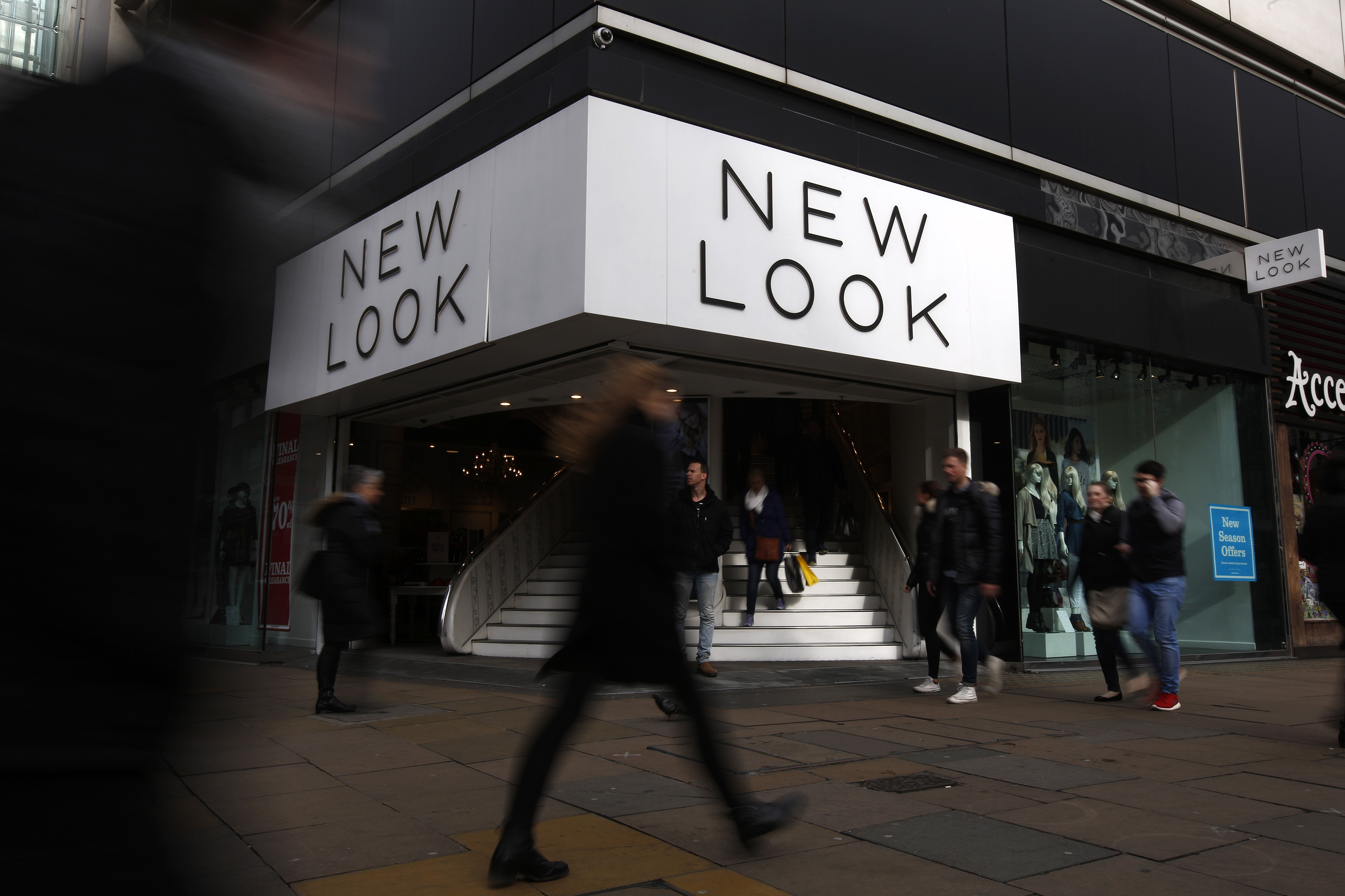 New Look Group Ltd. Fashion Stores As Joint Owners Said To Prepare For Sale