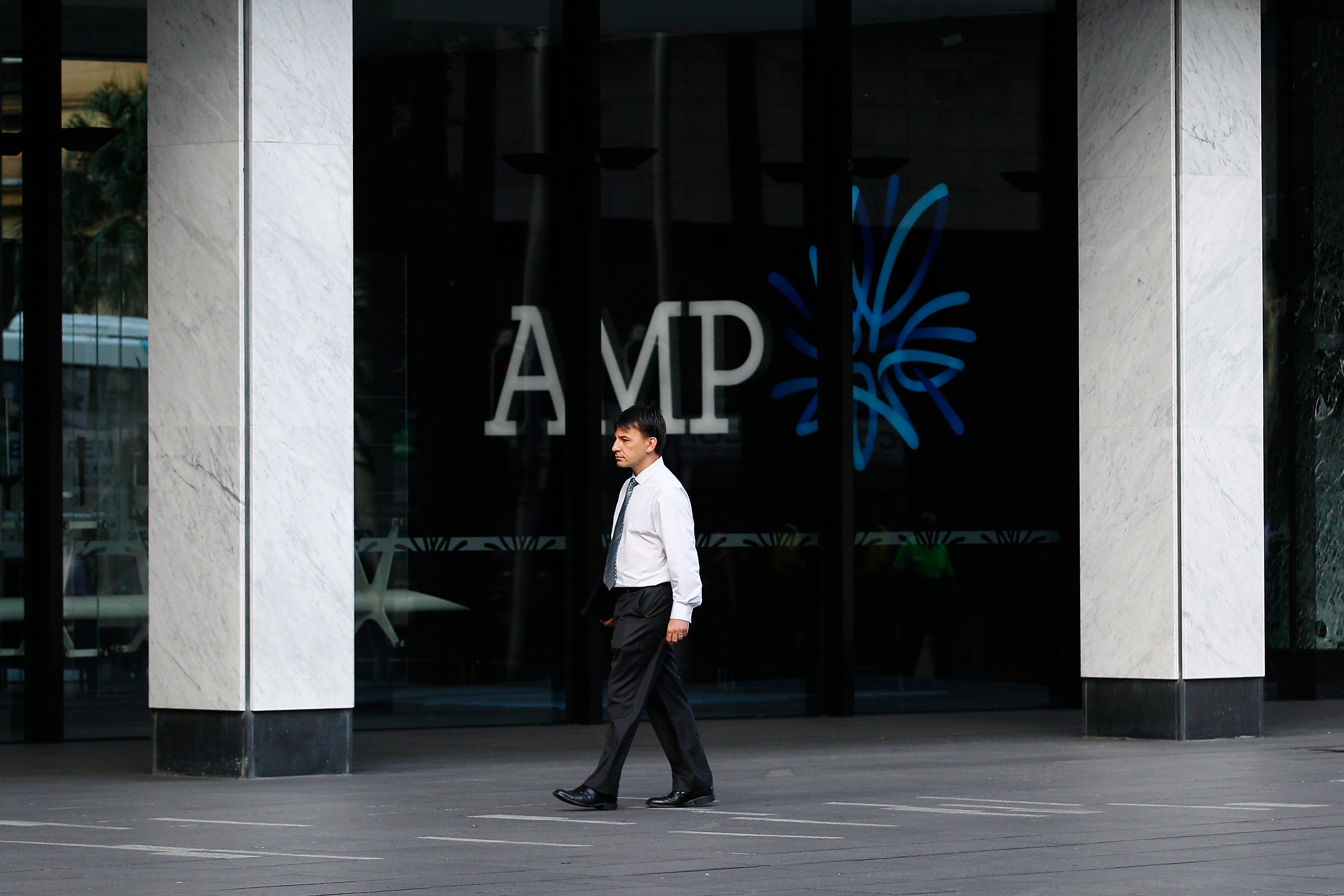 Images Of AMP Ltd. As Company Rises Most in Five Years After Net Income Beats Estimates