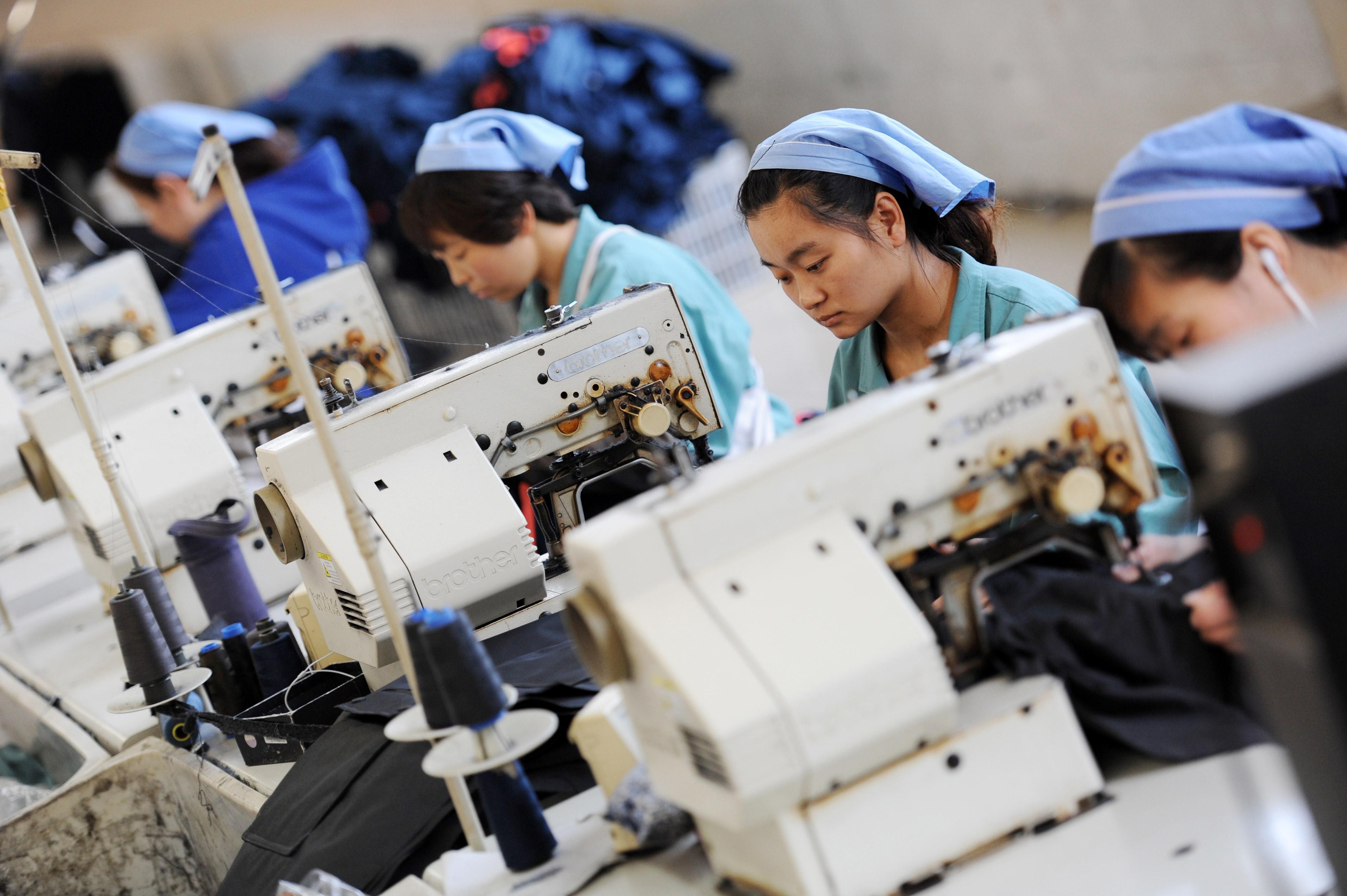 CHINA-ECONOMY-MANUFACTURING