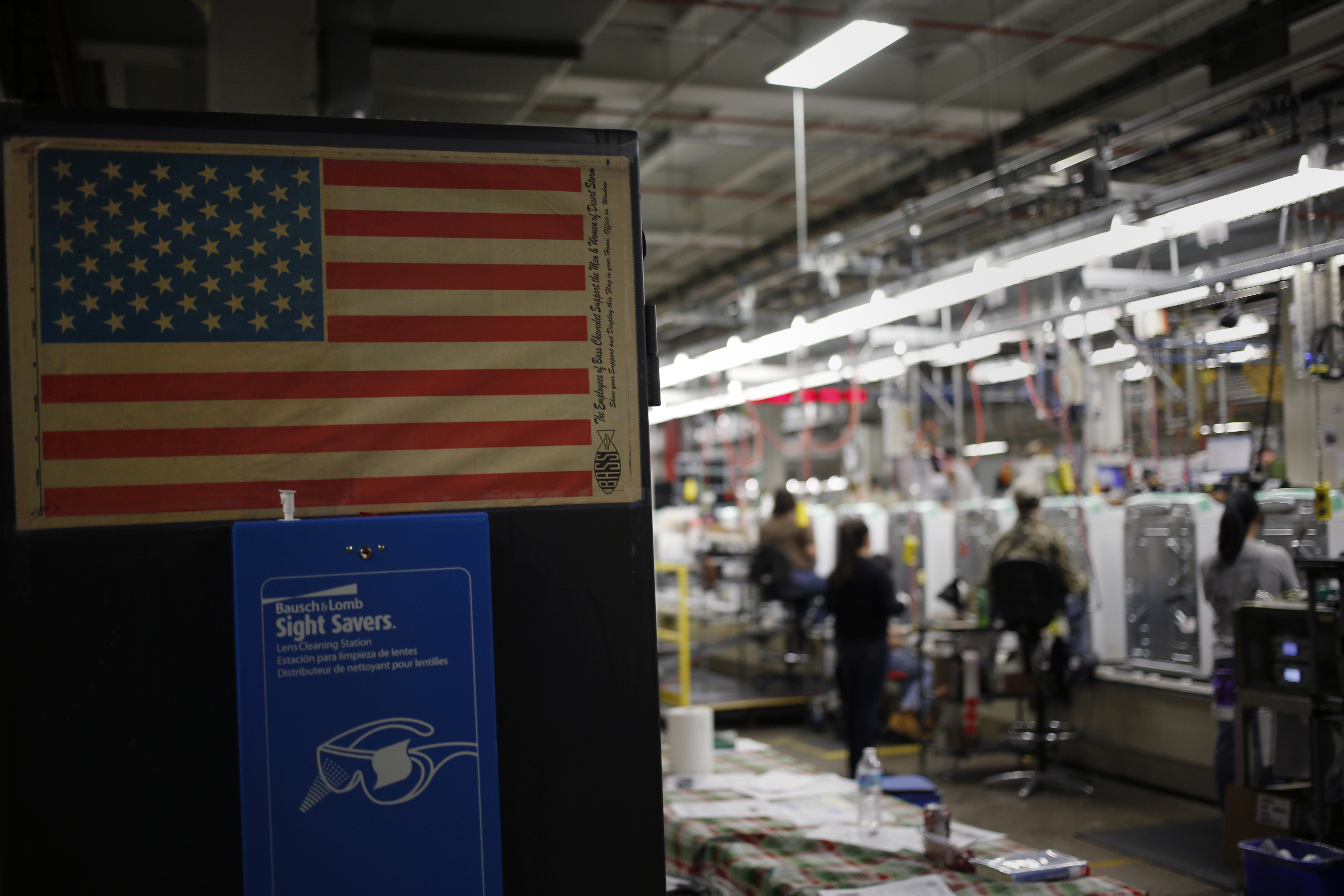 Inside The Whirlpool Corp. Brand Washing Machine Manufacturing Facility Ahead Of Business Inventories Figures
