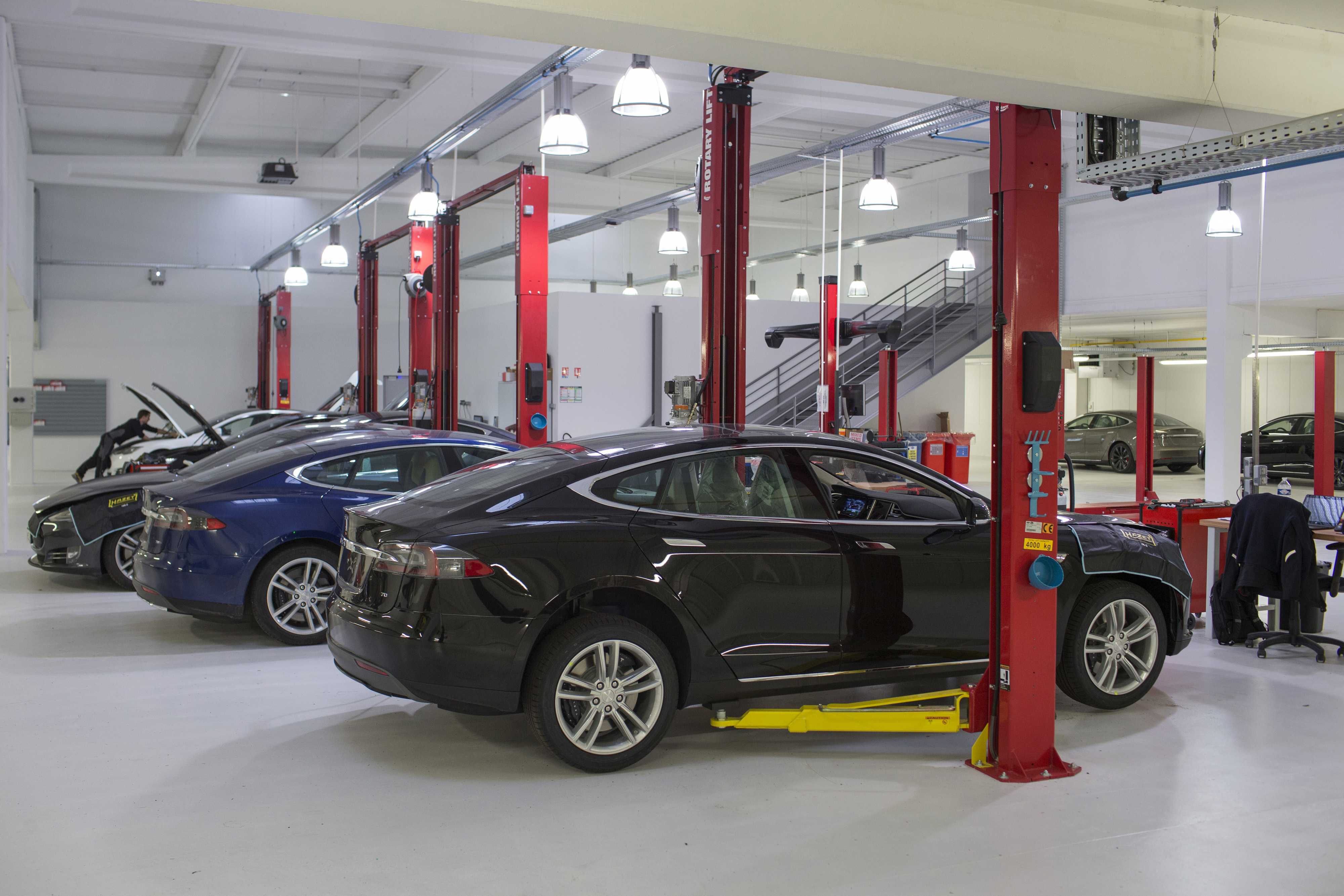 Inside A Tesla Motors Inc. Showroom As  Electric Automaker Pushes For Positive Cash-flow