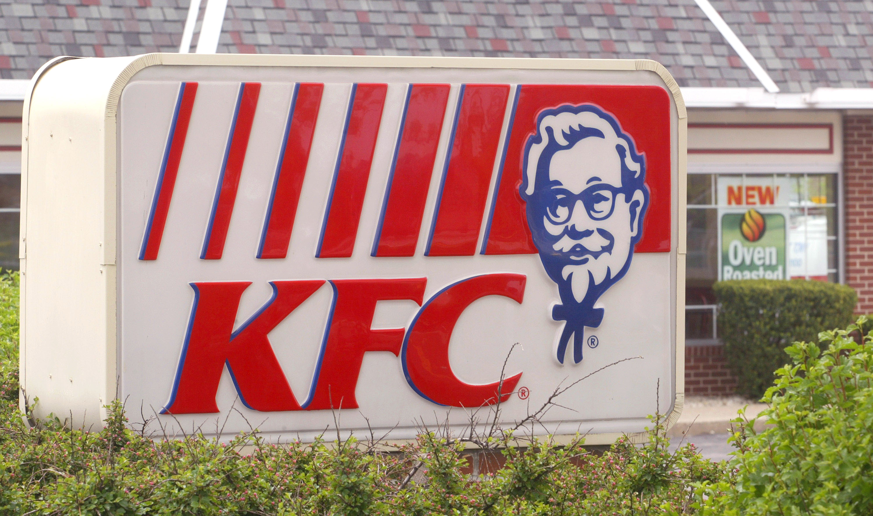 KFC stores in the UK are closed because they don't have any chicken.
