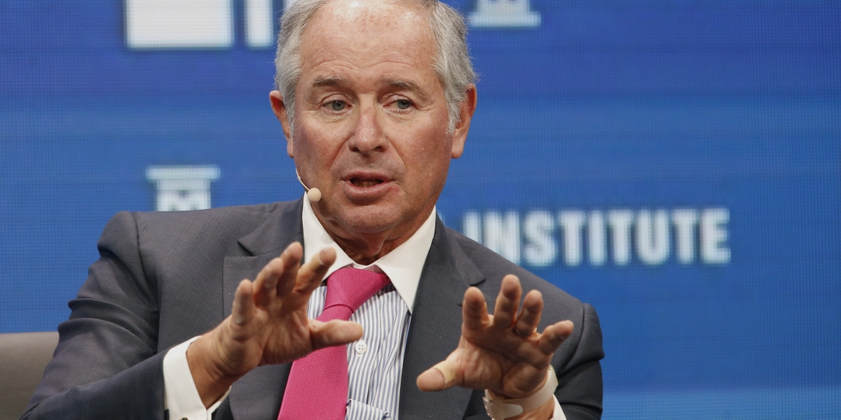 """Blackstone CEO Steve Schwarzman on Bitcoin: """"I Was Raised in a World Where Someone Needs to Control Currencies"""""""